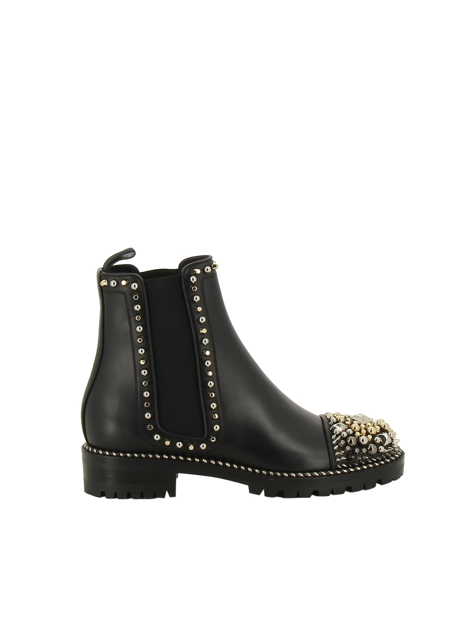 new concept ae236 95333 Best price on the market at italist | Christian Louboutin Christian  Louboutin Chase A Clou Boots