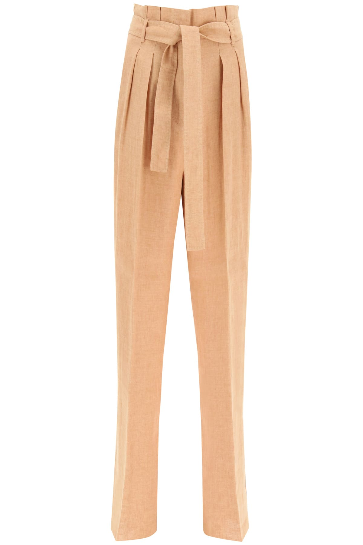 Cera Trousers In Linen Batavia