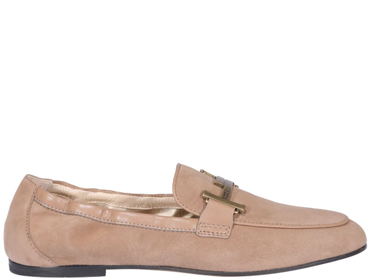 Tod's Suedes SUEDE LEATHER LOAFERS
