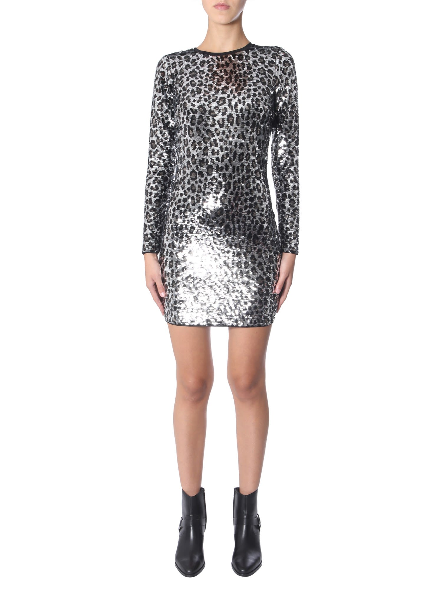 MICHAEL Michael Kors Leopard Dress