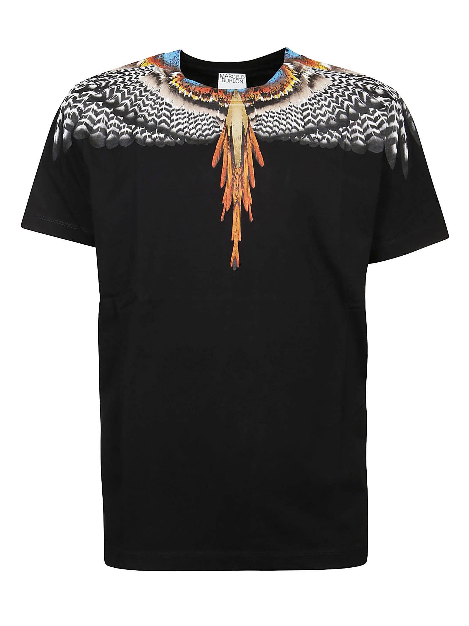 Marcelo Burlon County Of Milan Cottons T-SHIRT GRIZZLY WINGS REGULAR