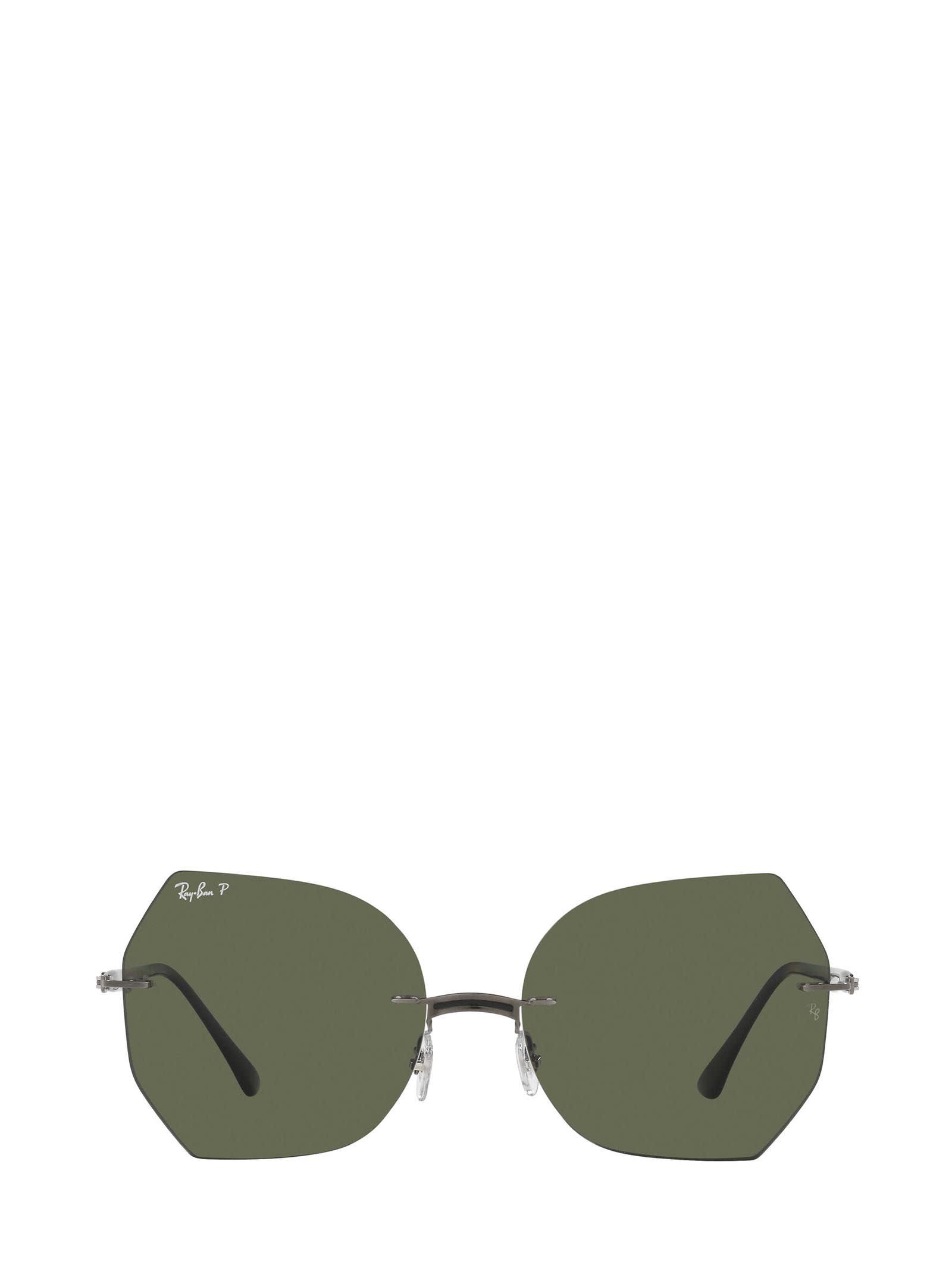 Ray-Ban Ray-ban Rb8065 Black On Gunmetal Sunglasses