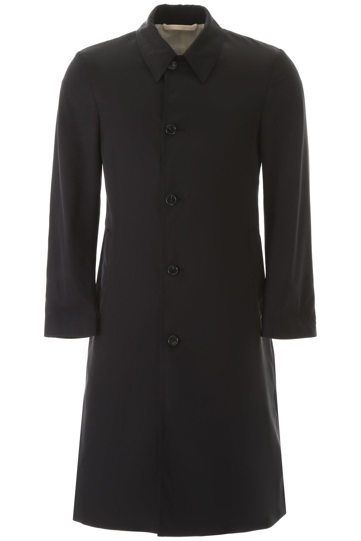 Raf Simons Car Coat Slim Fit Raincoat