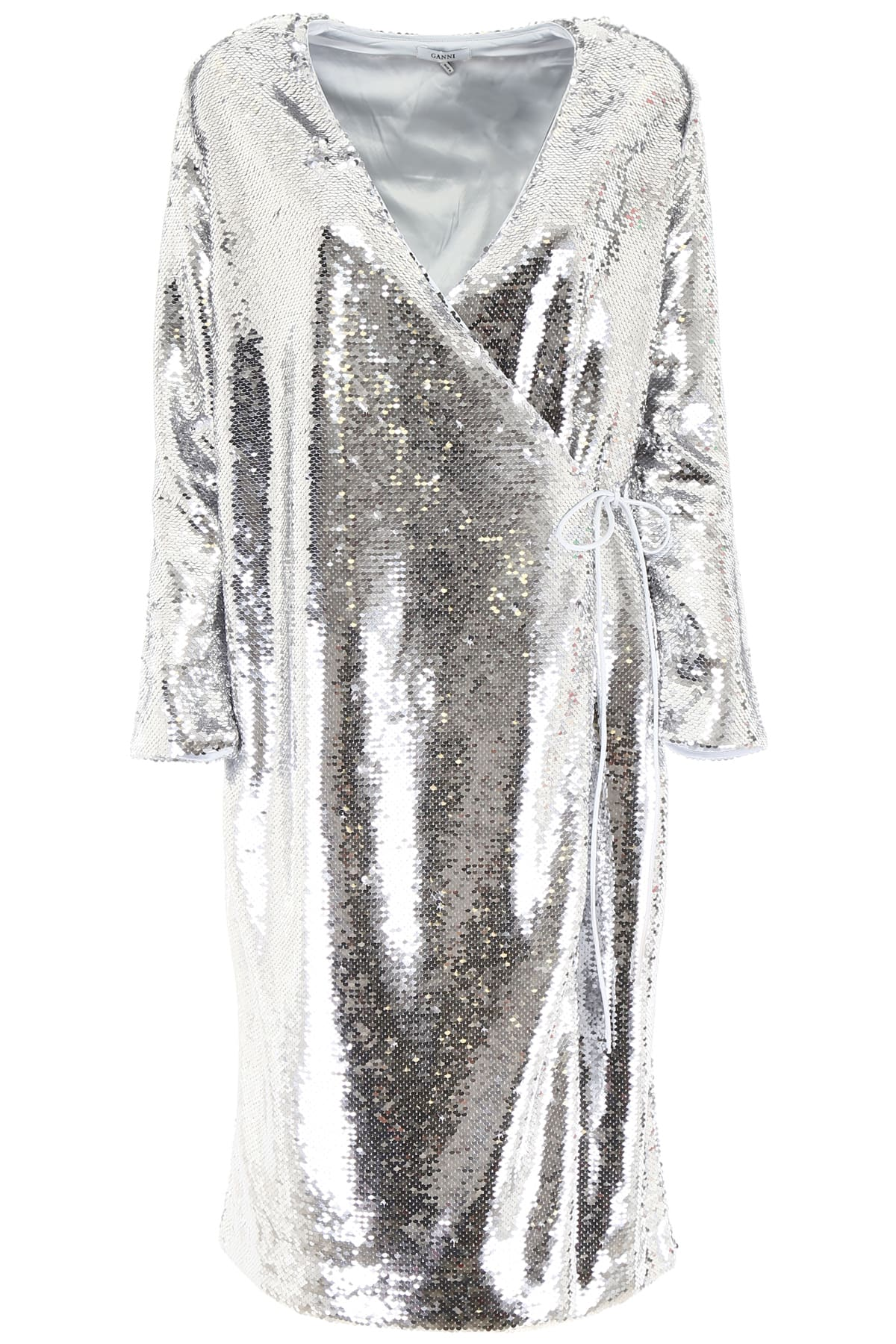Buy Ganni Sequins Dress online, shop Ganni with free shipping