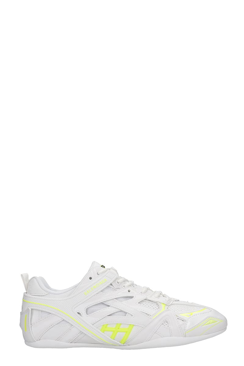 Balenciaga Sports CLOSED SNEAKERS IN WHITE SYNTHETIC FIBERS