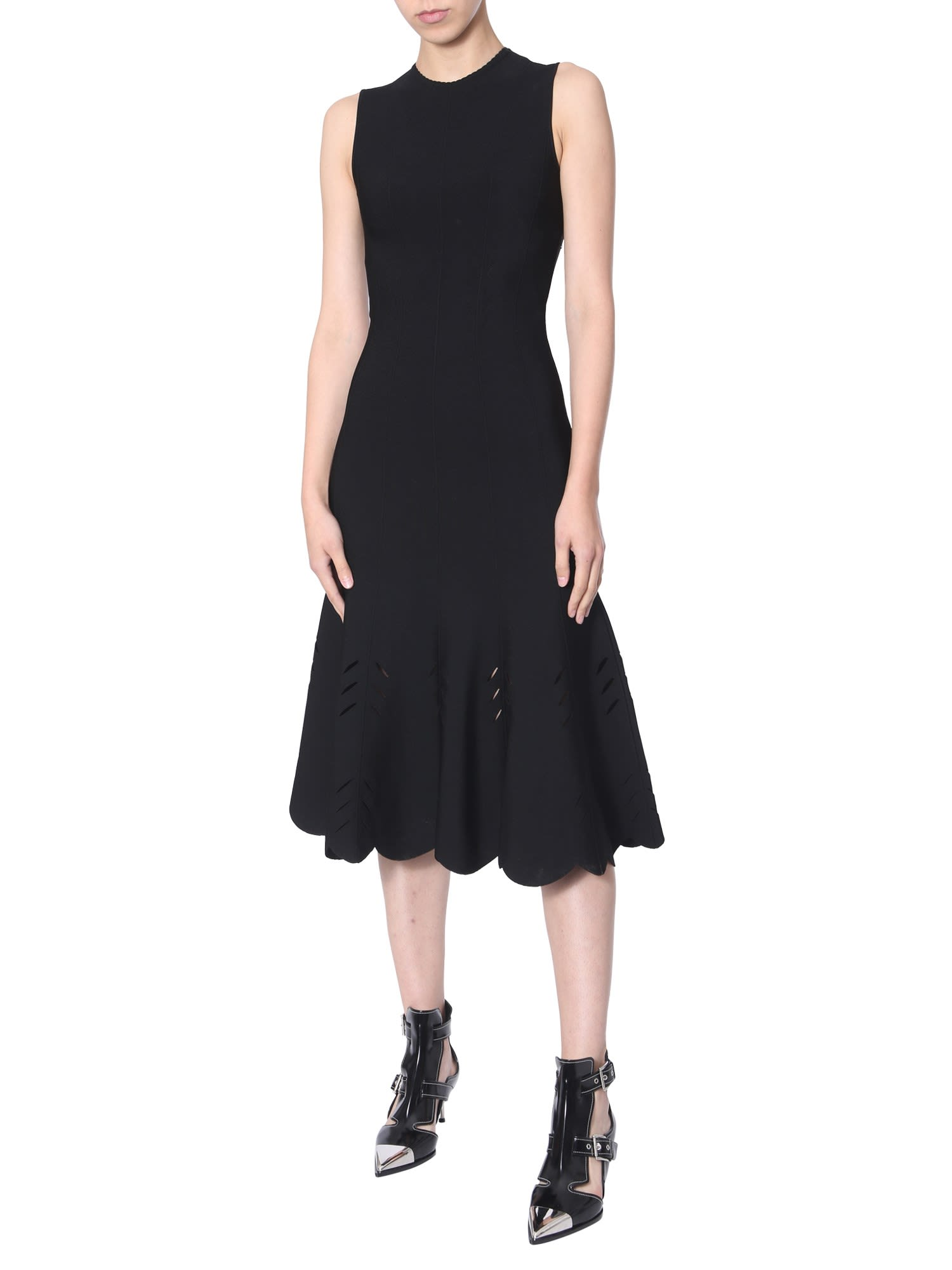 Alexander McQueen Longuette Dress