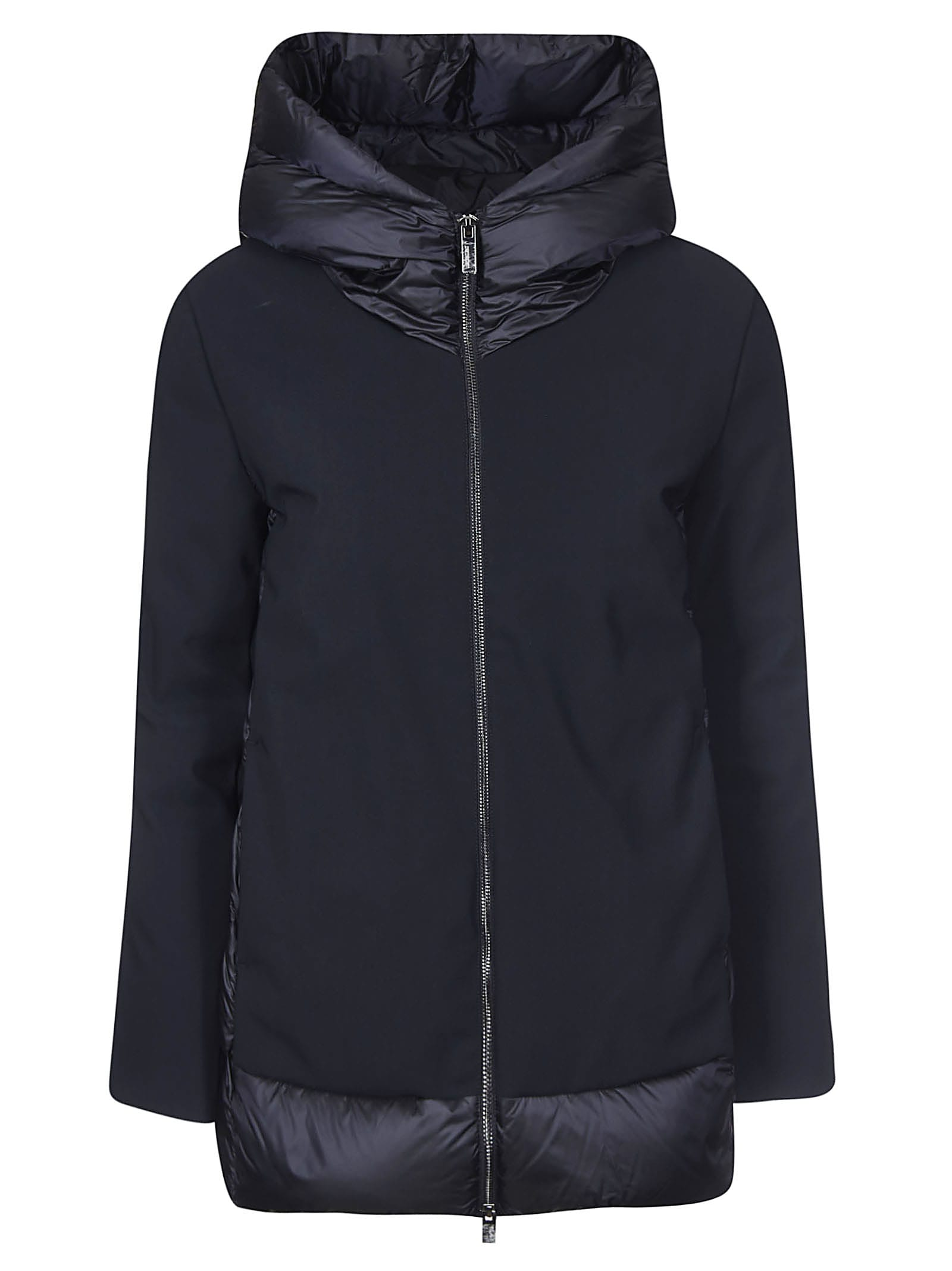 RRD - Roberto Ricci Design Back Padded Detail Hooded Jacket