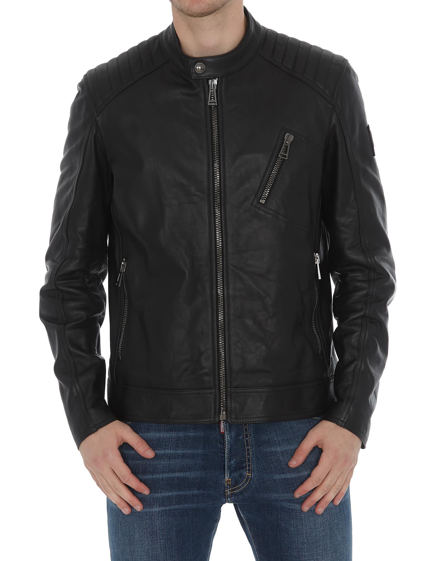special sales fashion styles arriving Belstaff Belstaff Leather Jacket - Black - 11014840 | italist