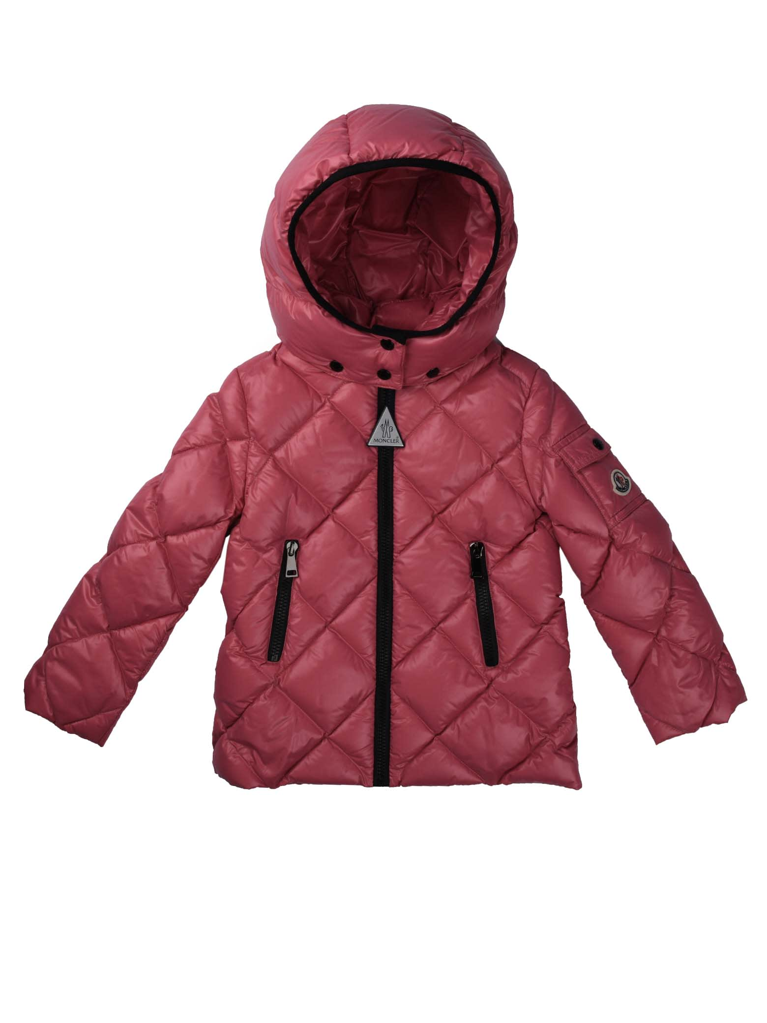 Moncler Kamile Quilted Strawberry Jacket
