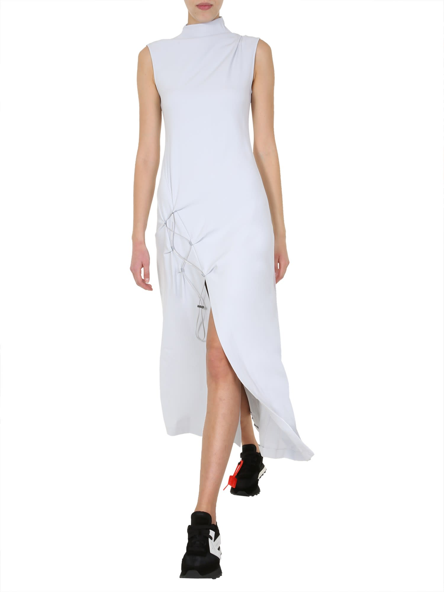 Buy Off-White Dna Spiral Split Dress online, shop Off-White with free shipping