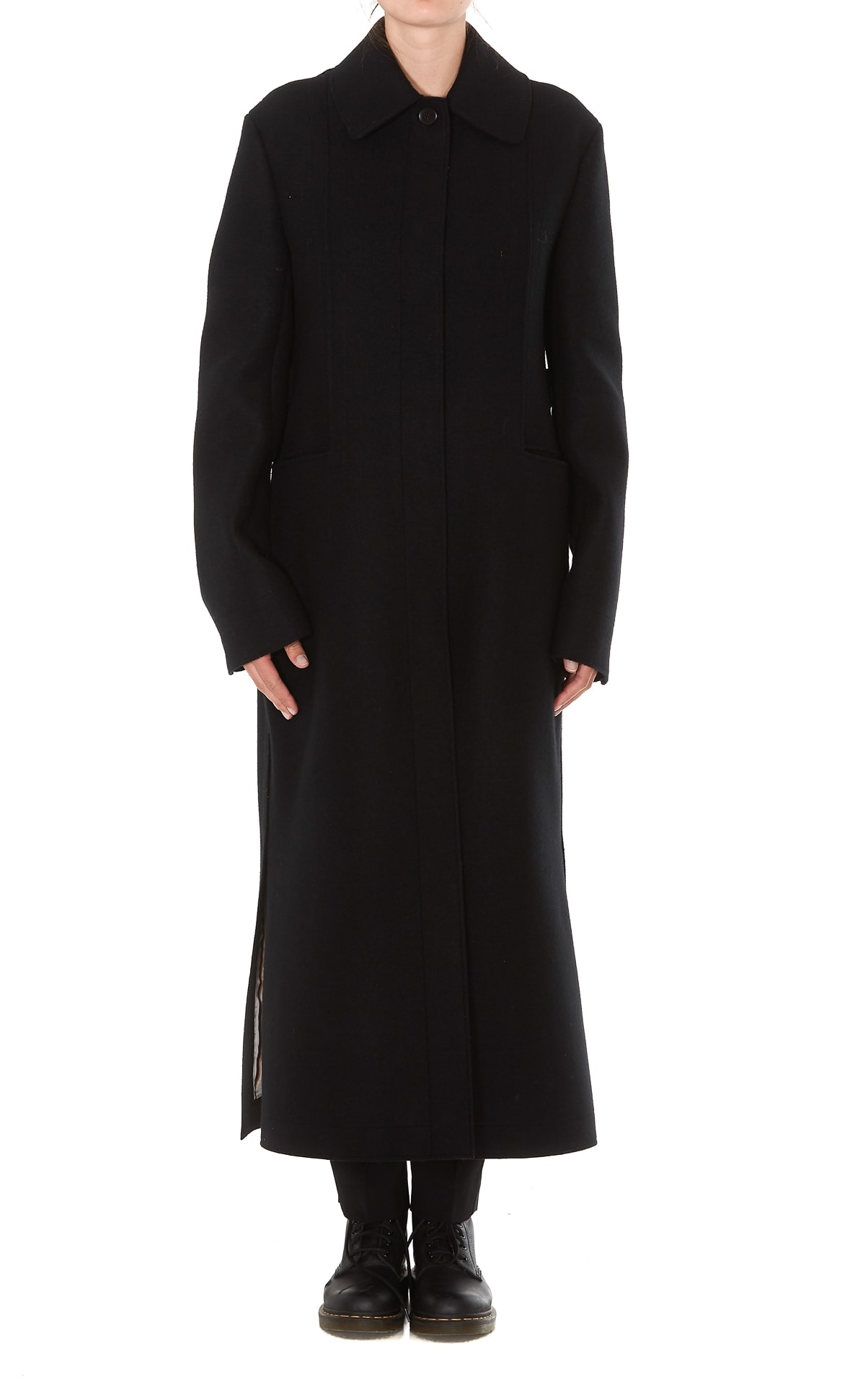 Photo of  Jil Sander Lotus Coat- shop Jil Sander jackets online sales