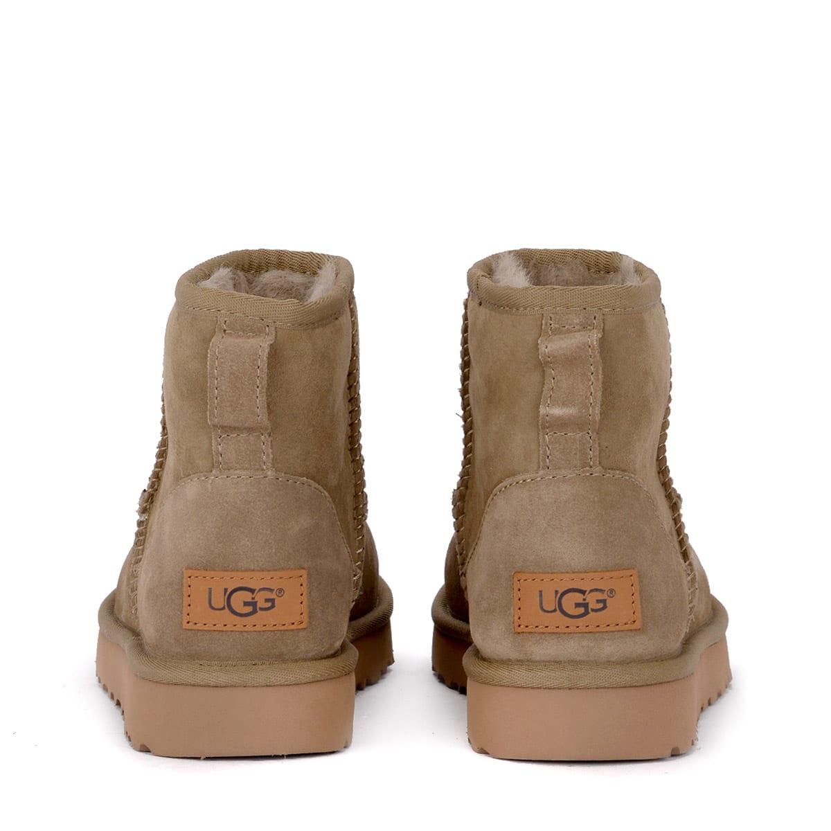 3ad57b2855b Ugg Classic Ii Mini Antelope Suede Sheepskin Ankle Boots.