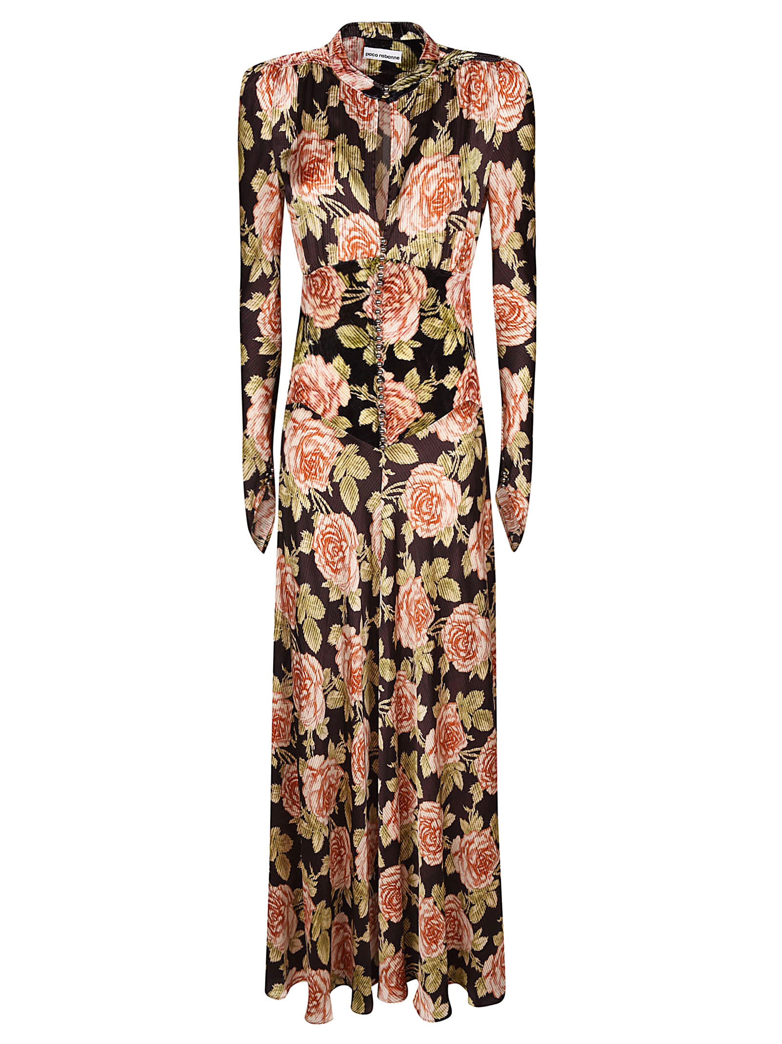 Paco Rabanne Floral Dress