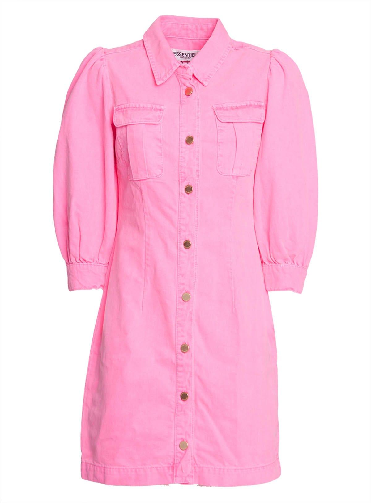 Buy Essentiel Antwerp Denim Mini Dress online, shop Essentiel Antwerp with free shipping