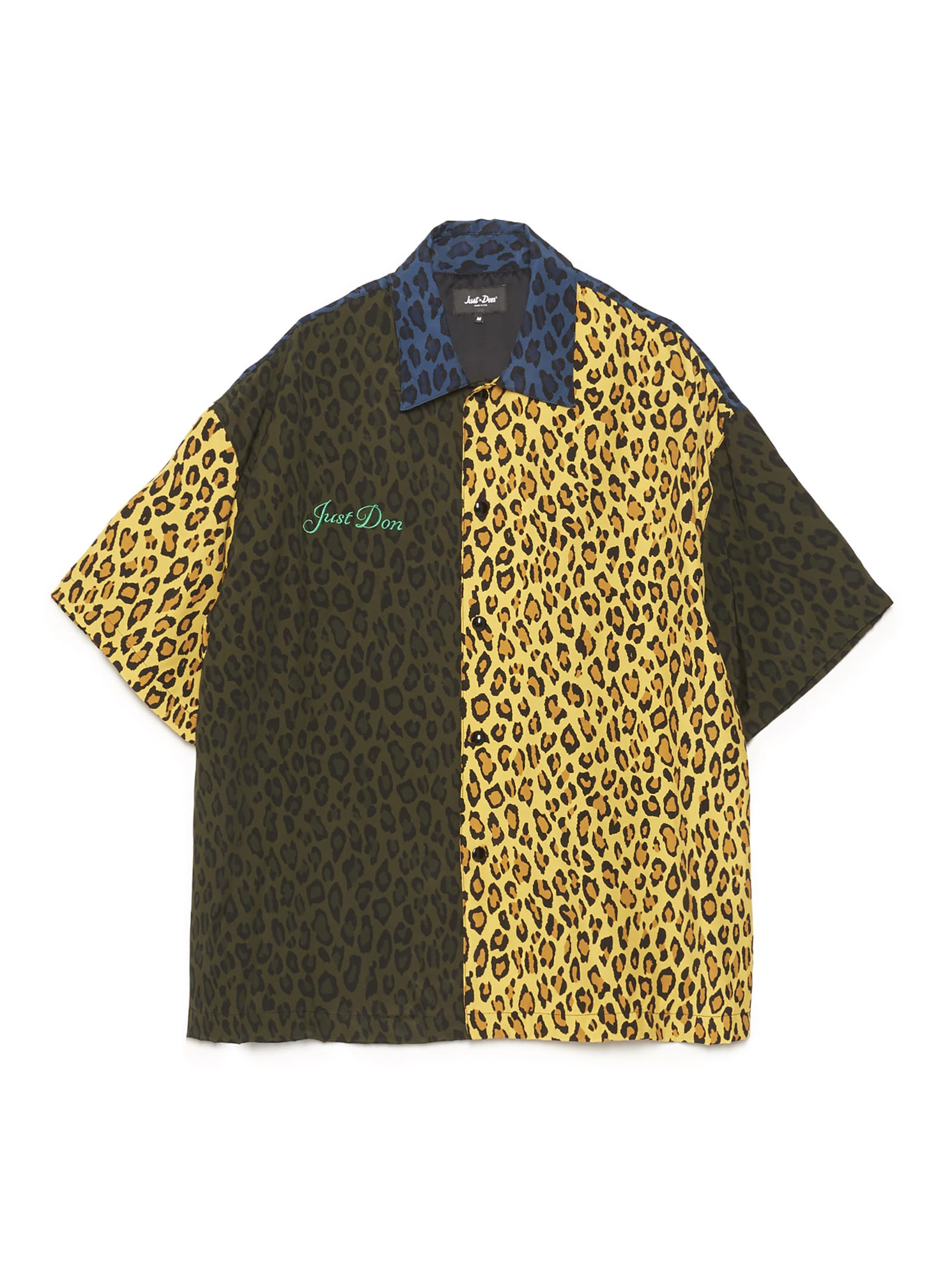 leopard Warm Up Shirt