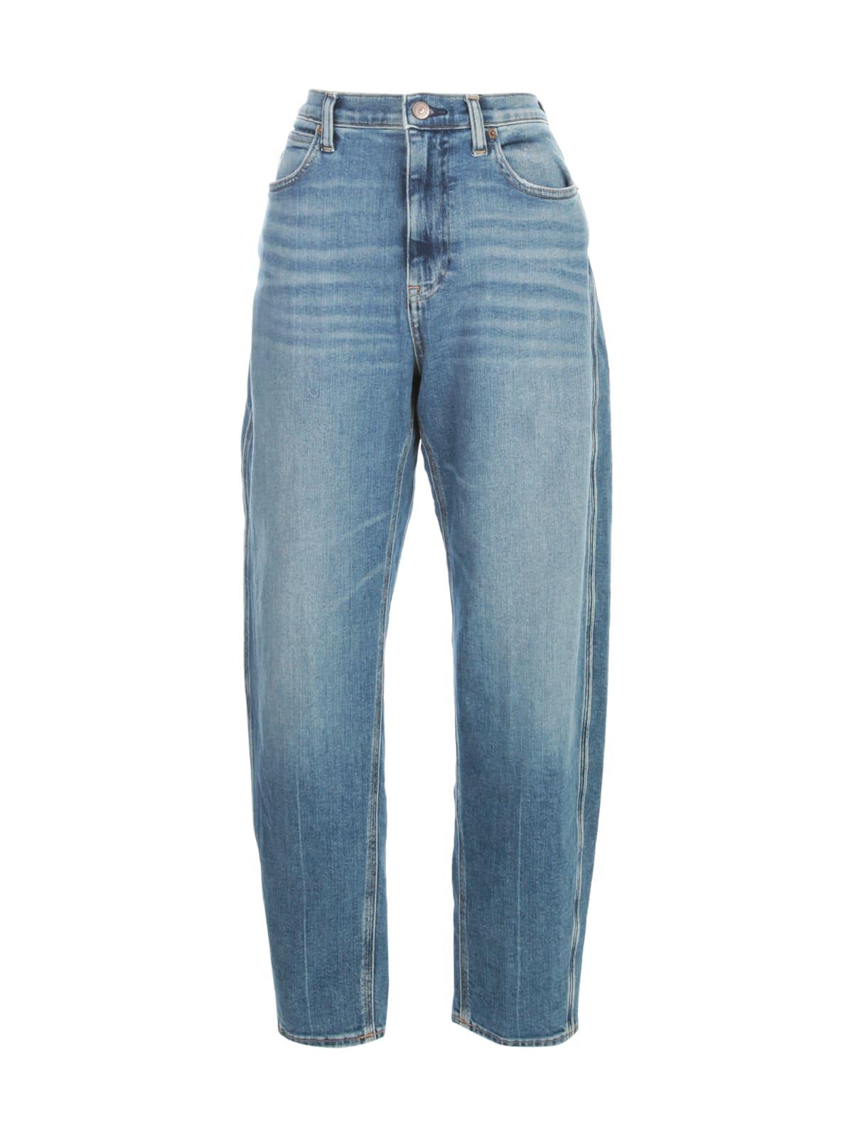Polo Ralph Lauren High Waisted Jeans In Medium Indigo