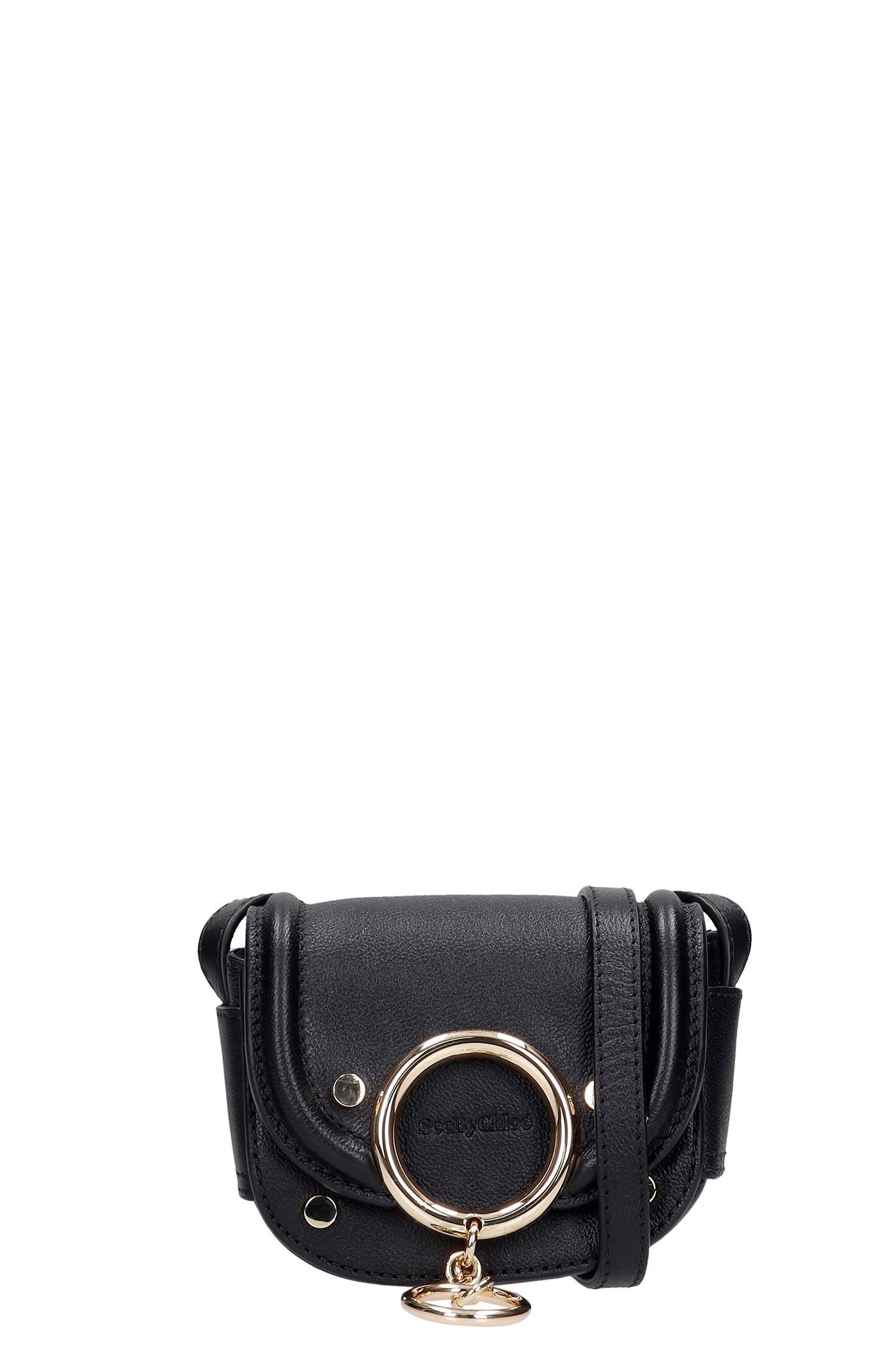 See by Chloé Hana Shoulder Bag In Black Leather