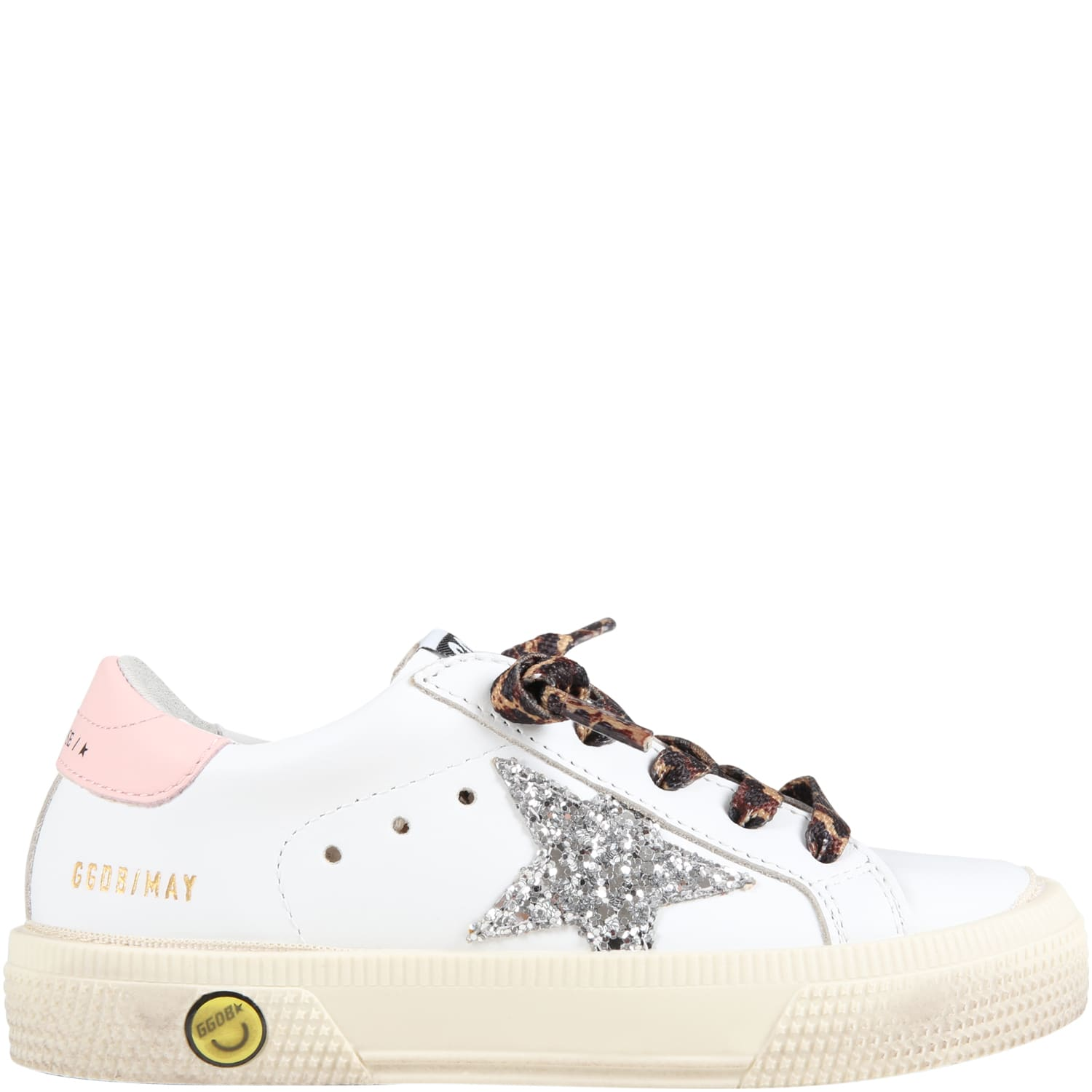 Golden Goose White may Sneakers For Girl