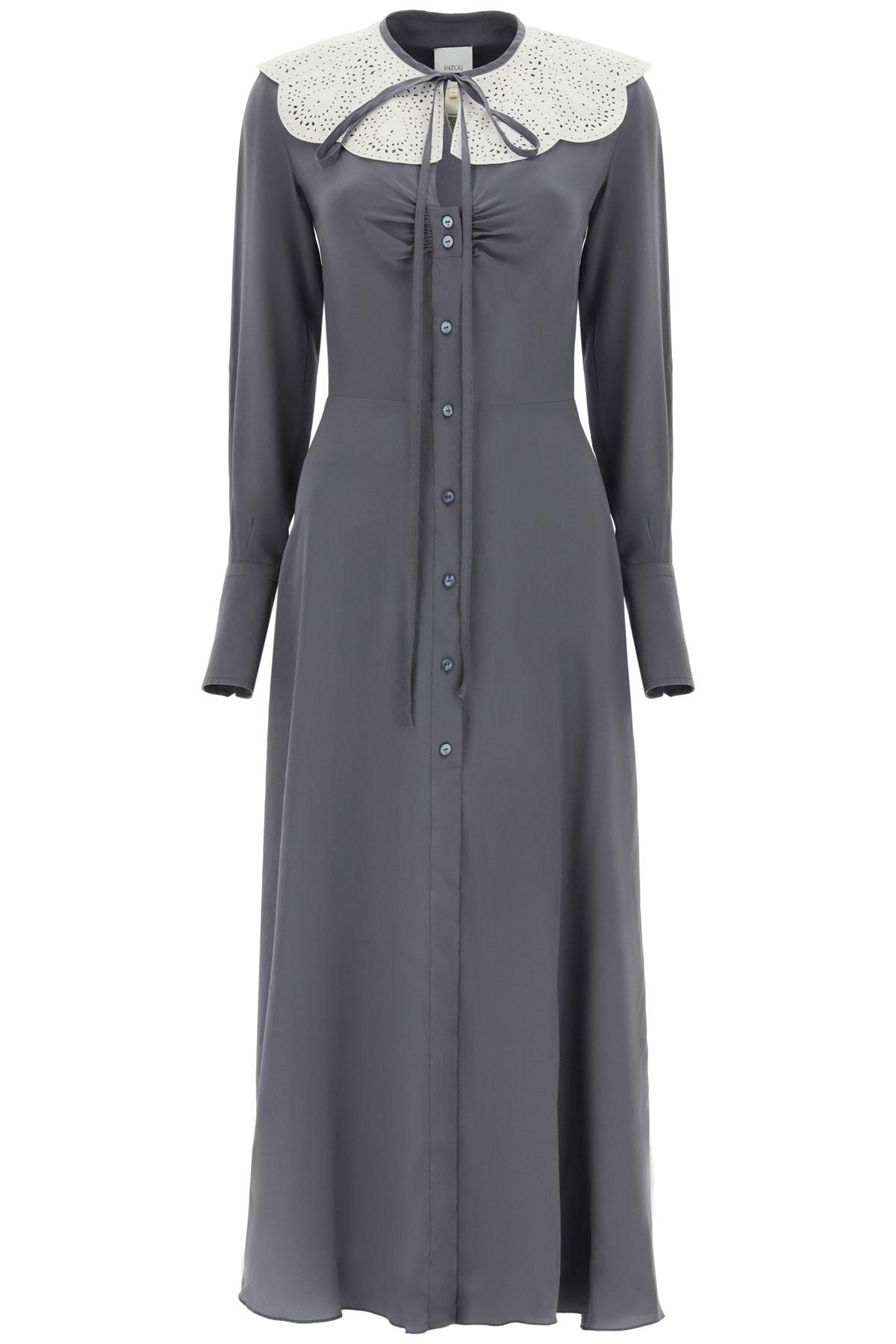 Patou SHIRT DRESS WITH COLLAR