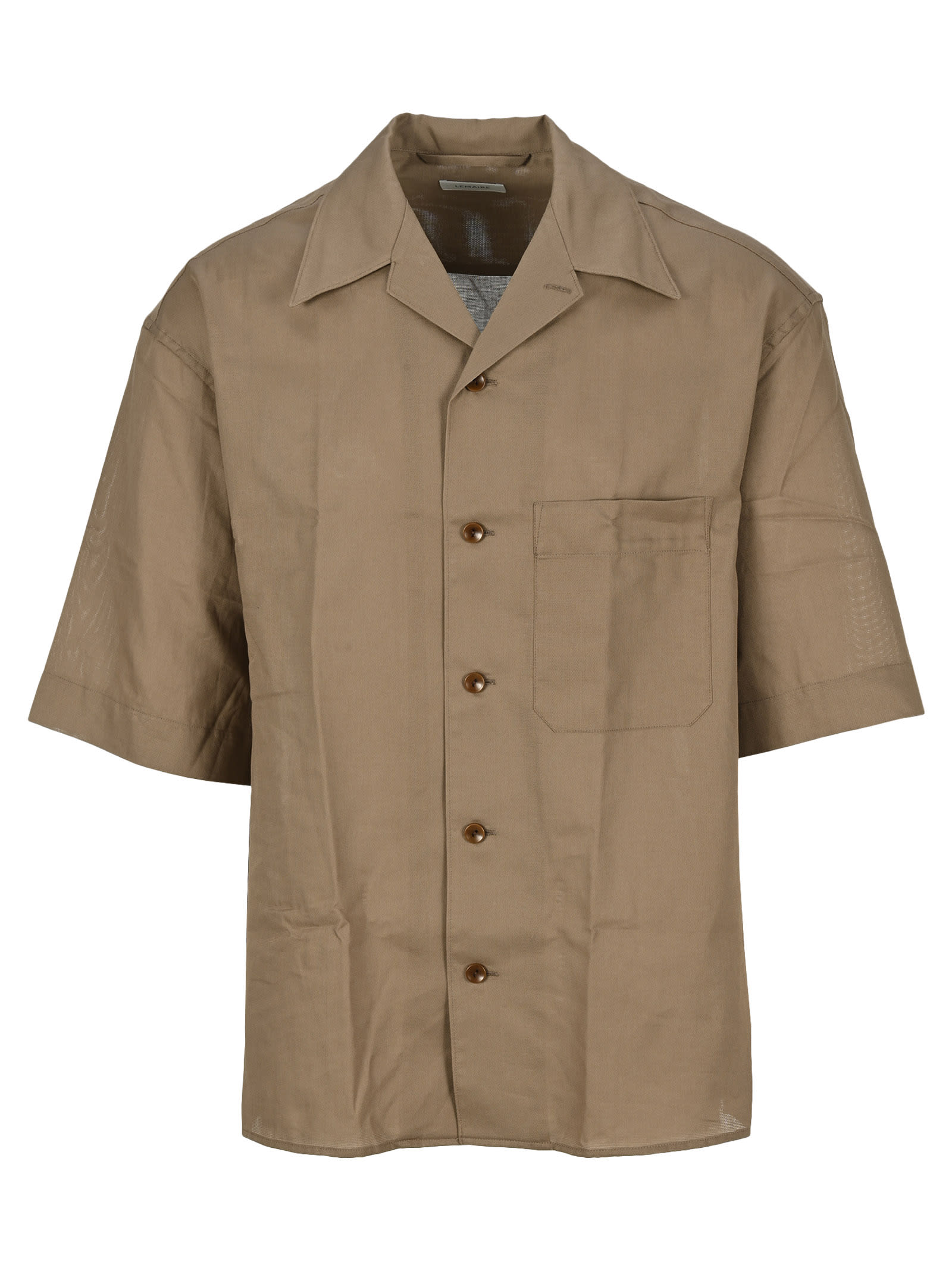 Lemaire Cottons SHORT SLEEVES SHIRT