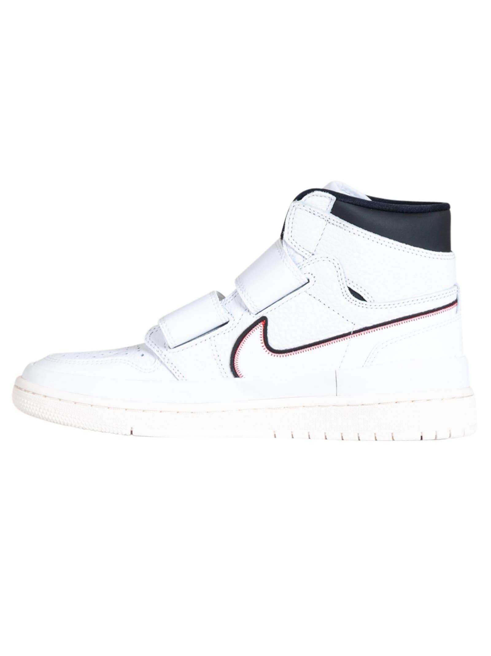 Nike Air Jordan 1 Re Hi Double Strp Whitewhite black sail