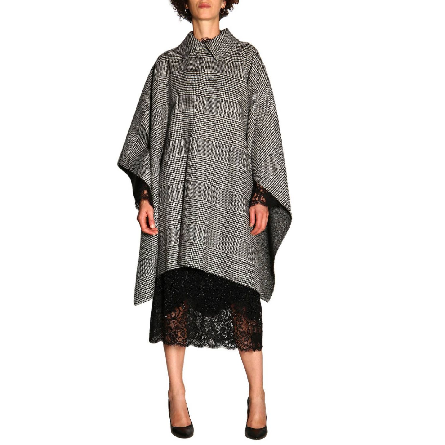 Photo of  Ermanno Scervino Cape Cape Women Ermanno Scervino- shop Ermanno Scervino jackets online sales