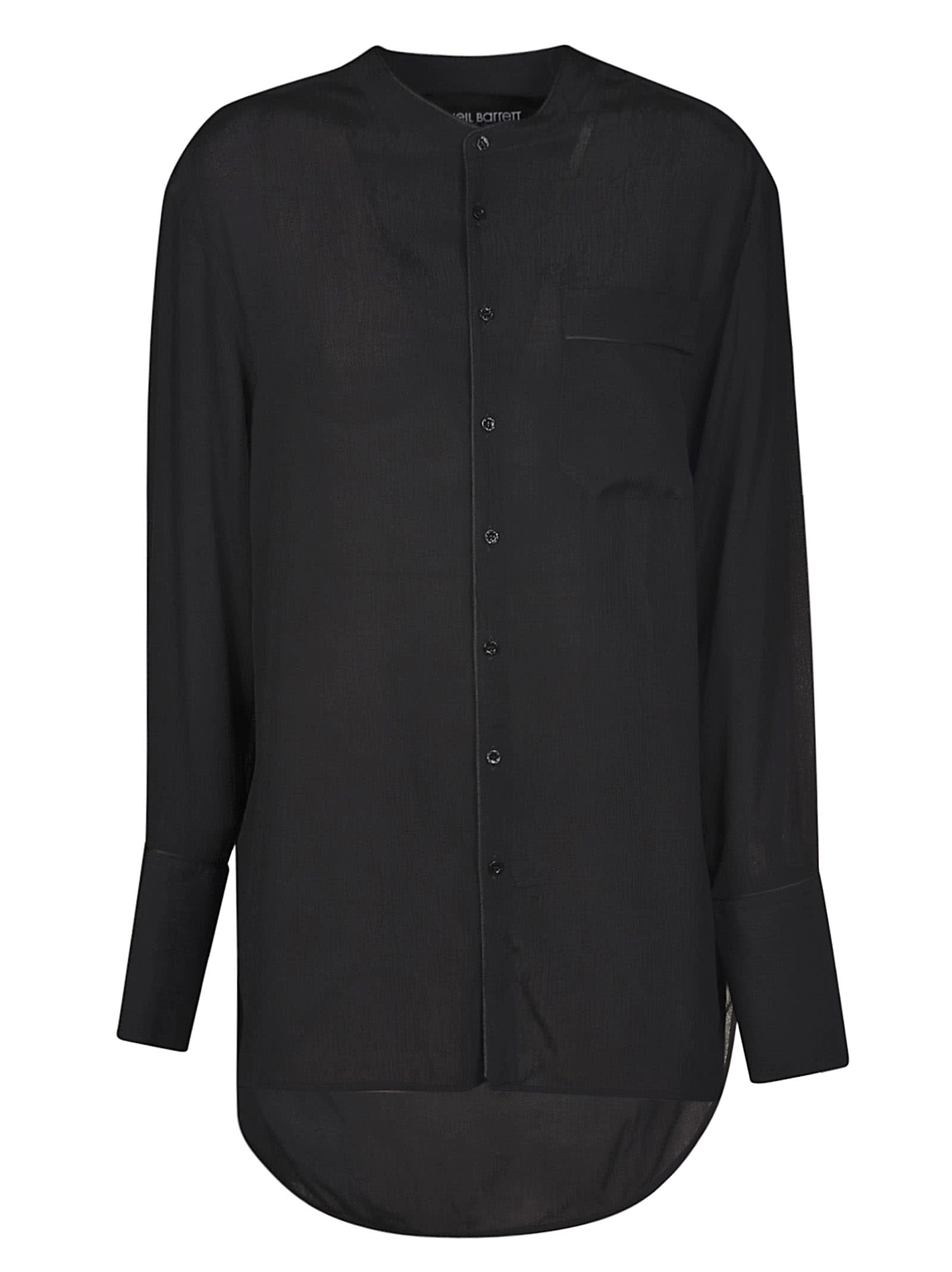 Neil Barrett Oversized Lace Shirt