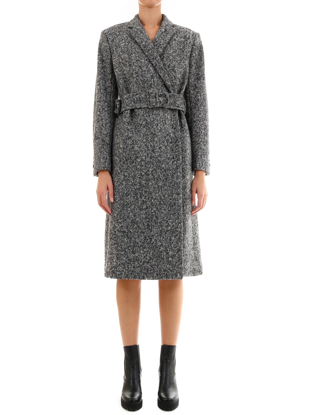 Stella McCartney Gray Wool Coat