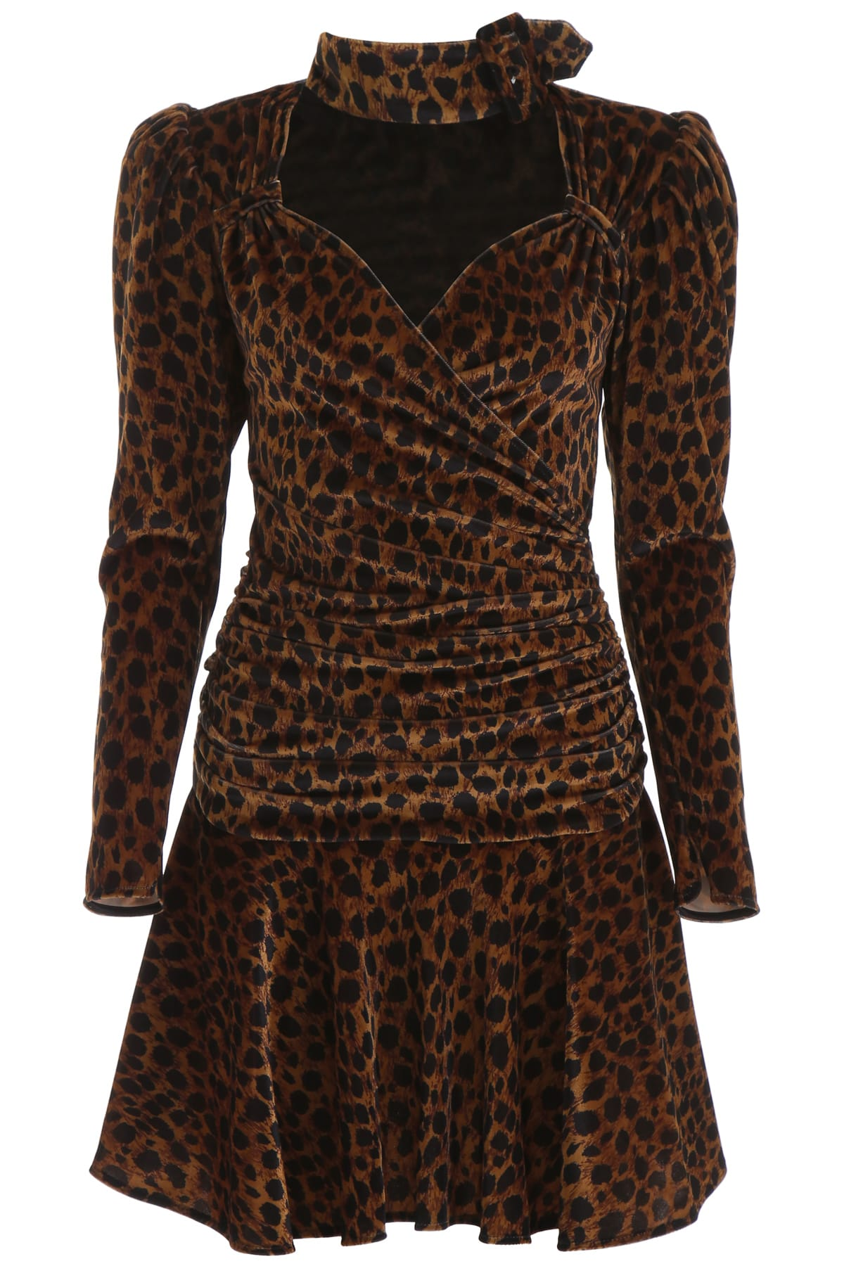 Buy The Attico Animalier Mini Dress online, shop The Attico with free shipping