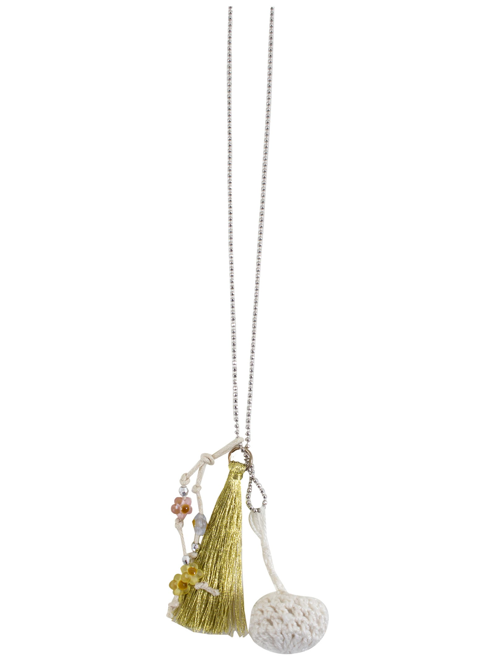Caffe dOrzo Necklace With Tassels