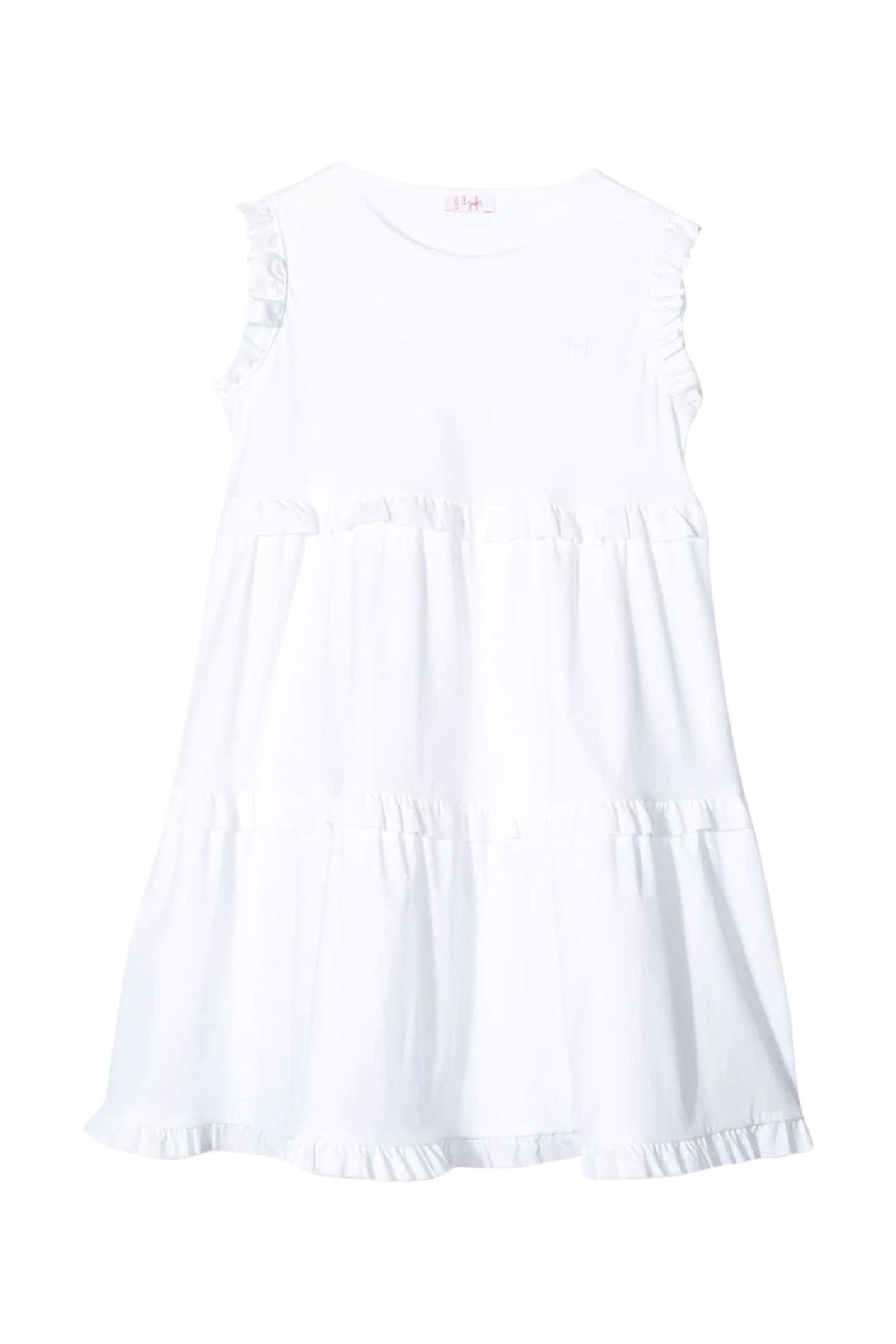 Buy Il Gufo Kids Ruffles Dress online, shop Il Gufo with free shipping