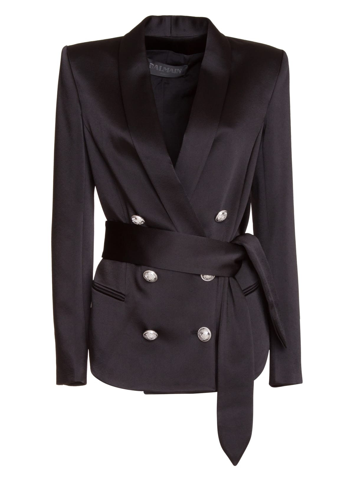 Balmain Tailored Belted Blazer