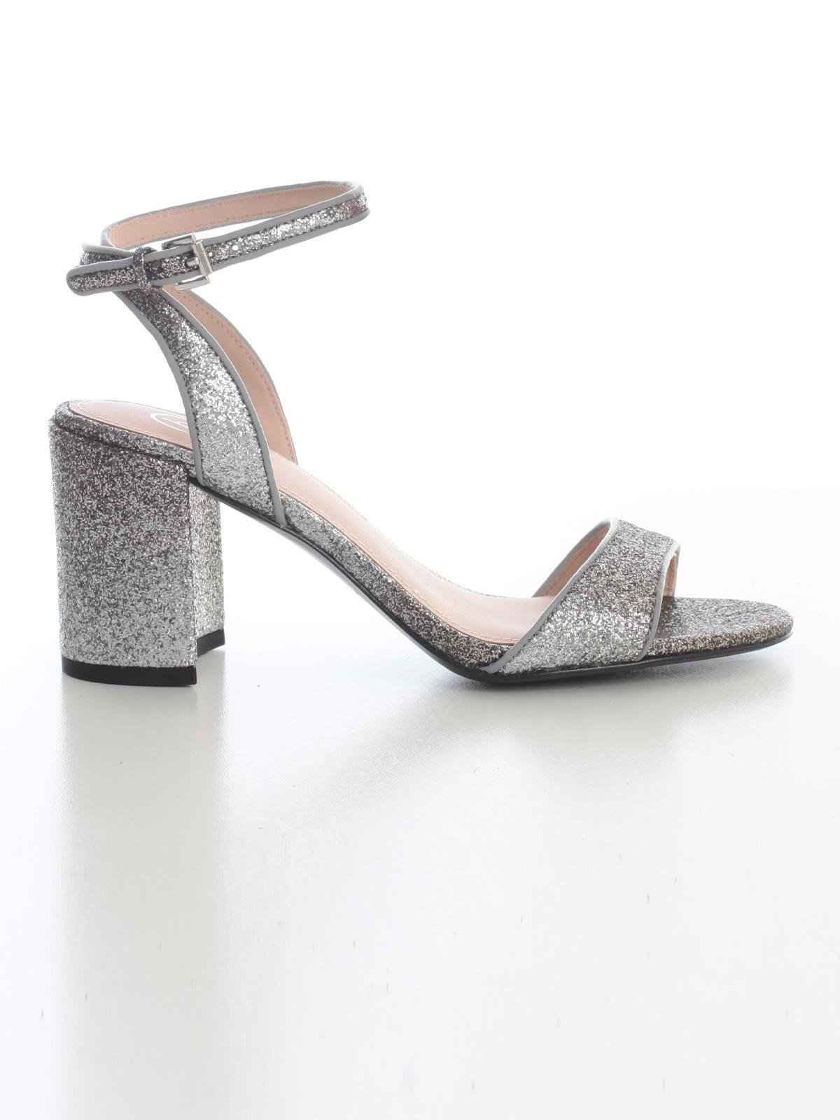 Ash Sandals 70 Heel W/glitter