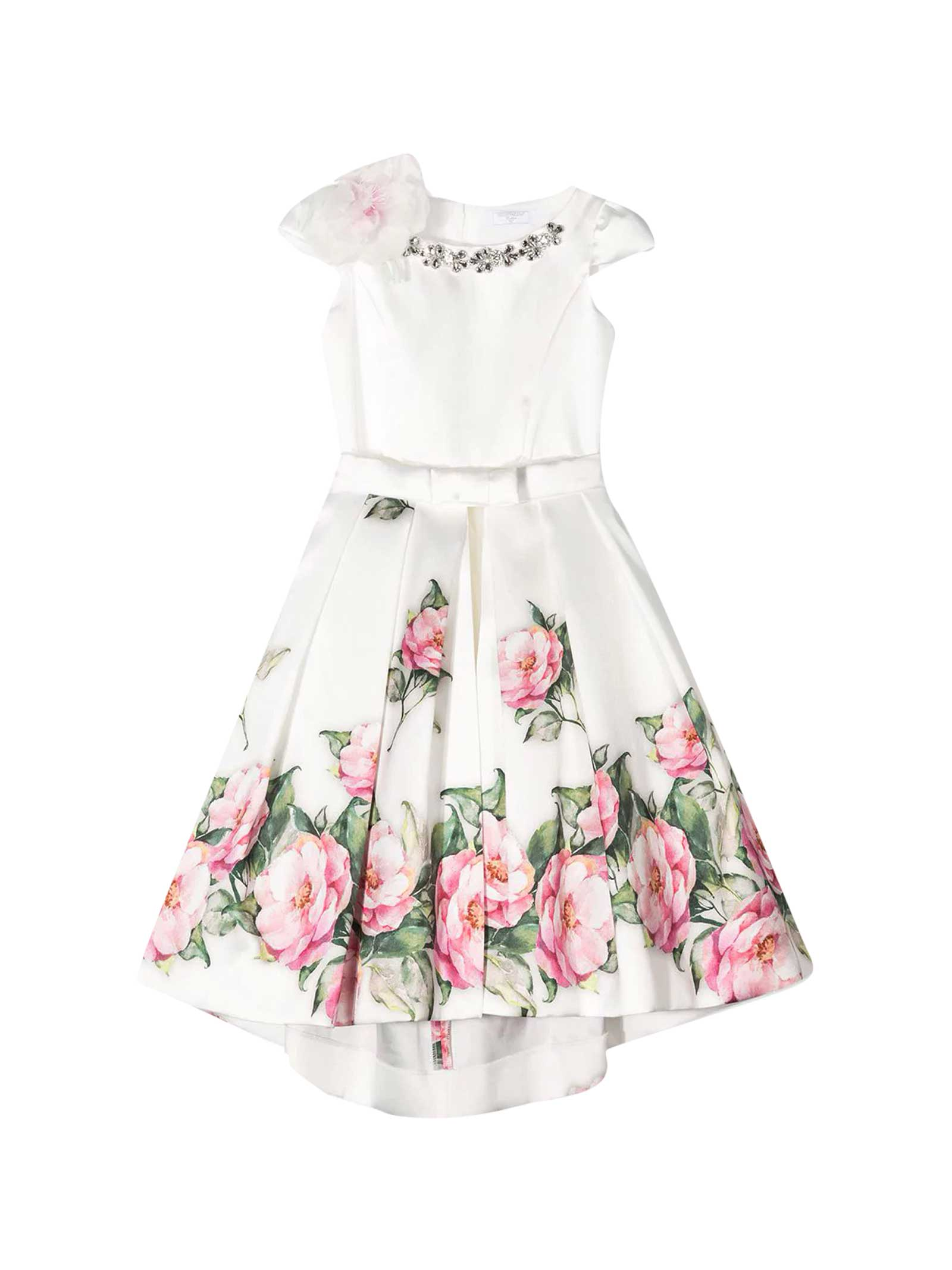 Monnalisa Monnalisa White Dress