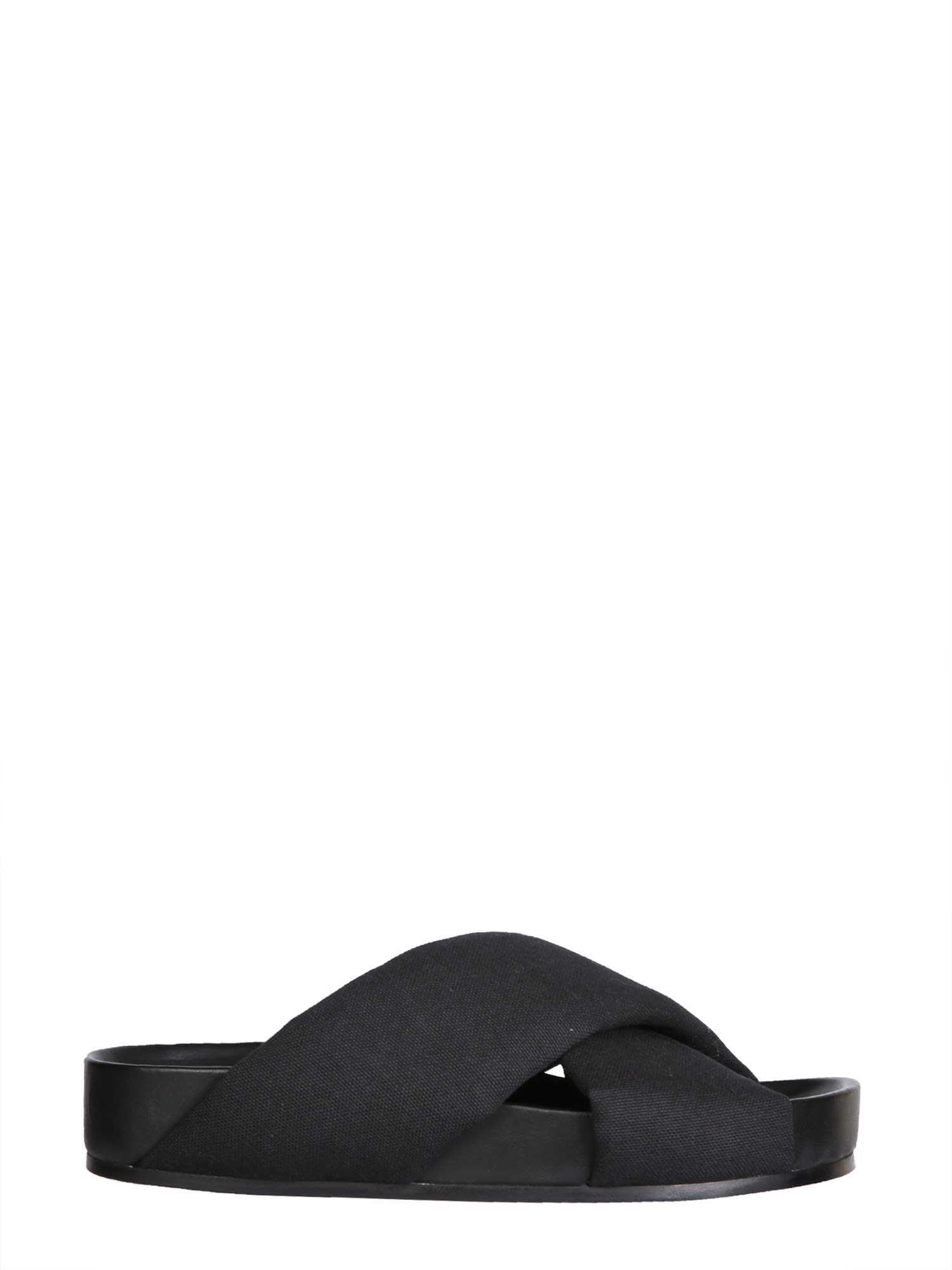 Buy Jil Sander Crossover Sandals online, shop Jil Sander shoes with free shipping