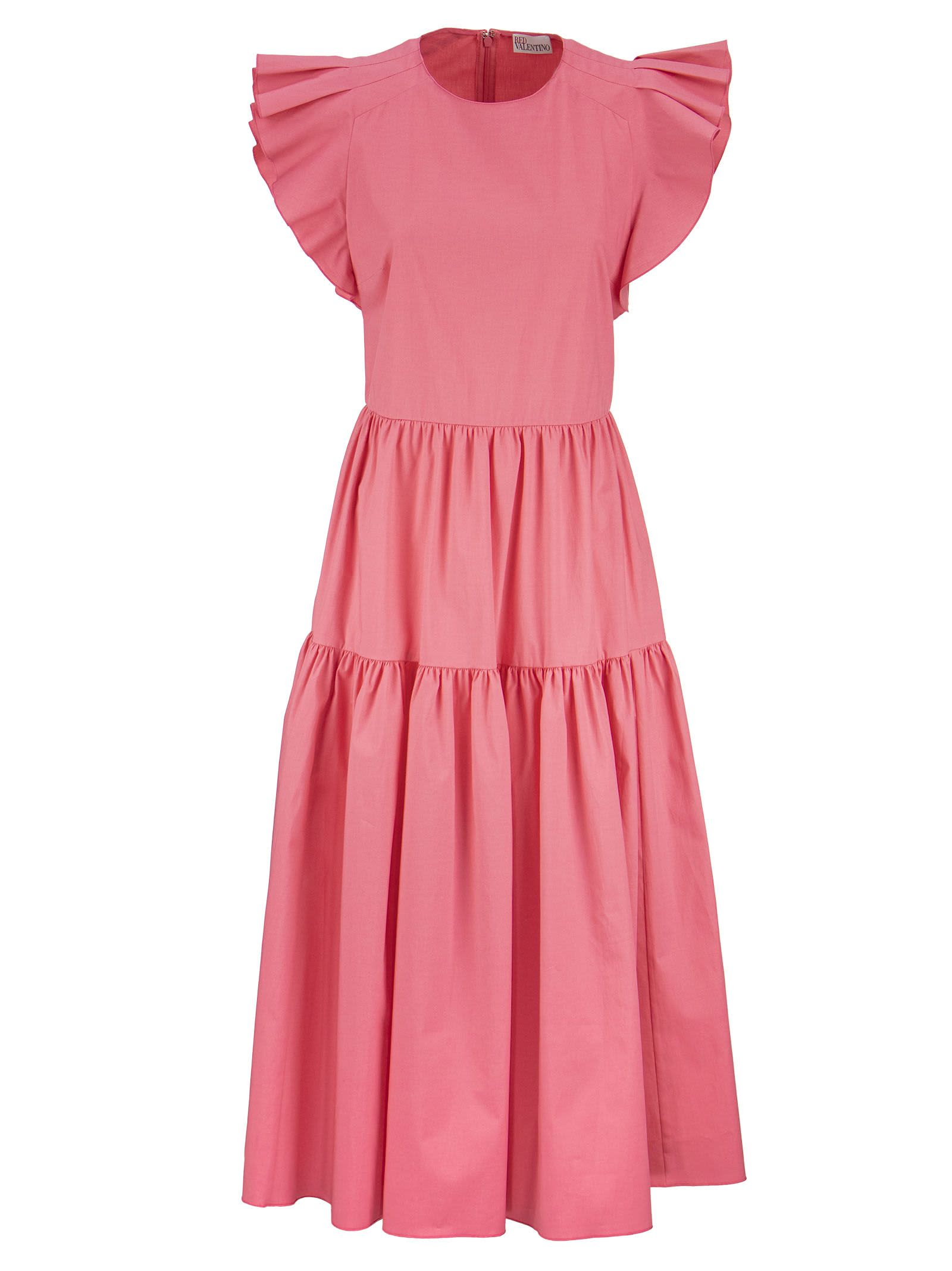 Buy RED Valentino Cotton Dress online, shop RED Valentino with free shipping