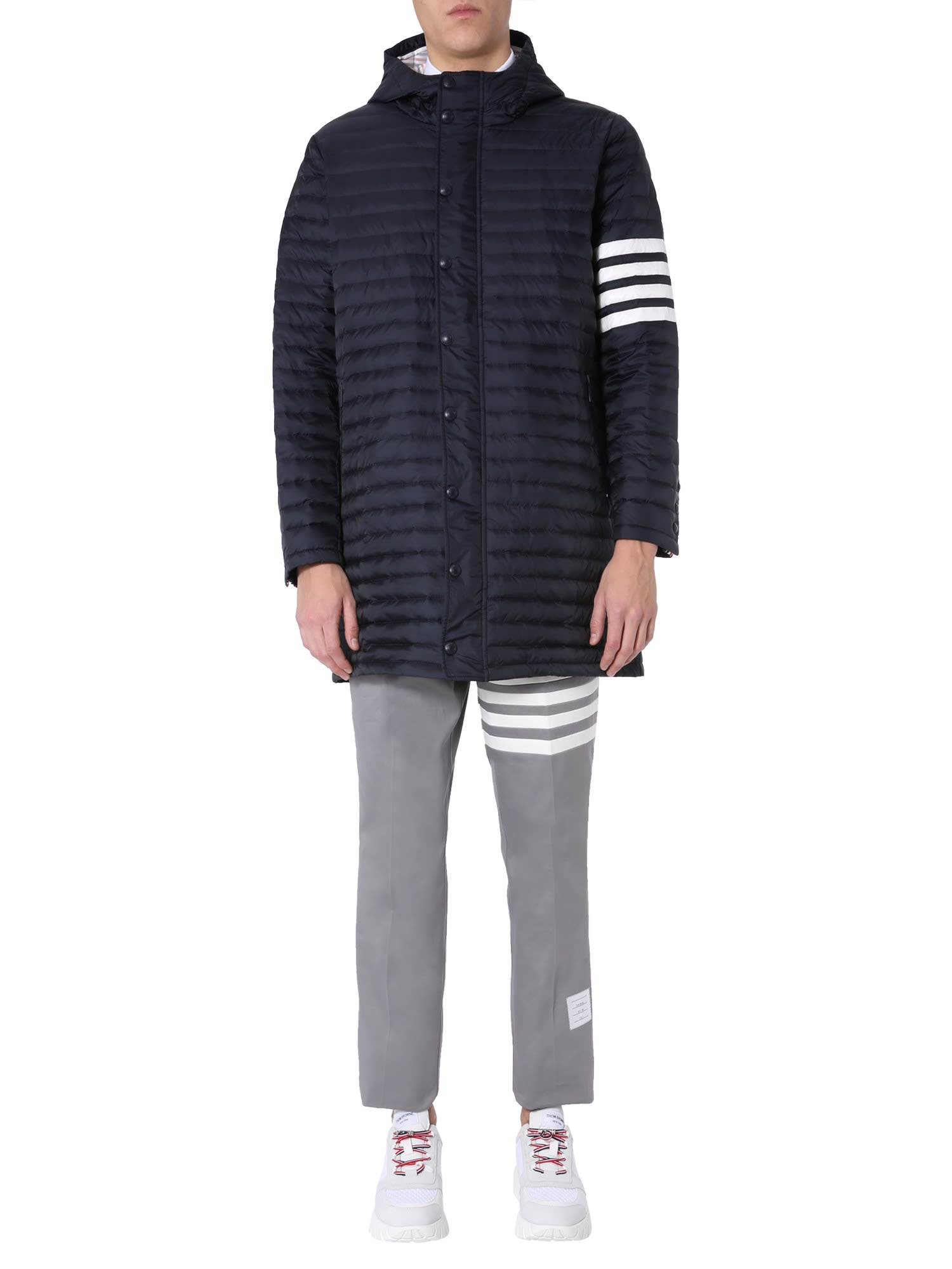 Thom Browne Tailoring Down Jacket With Hood