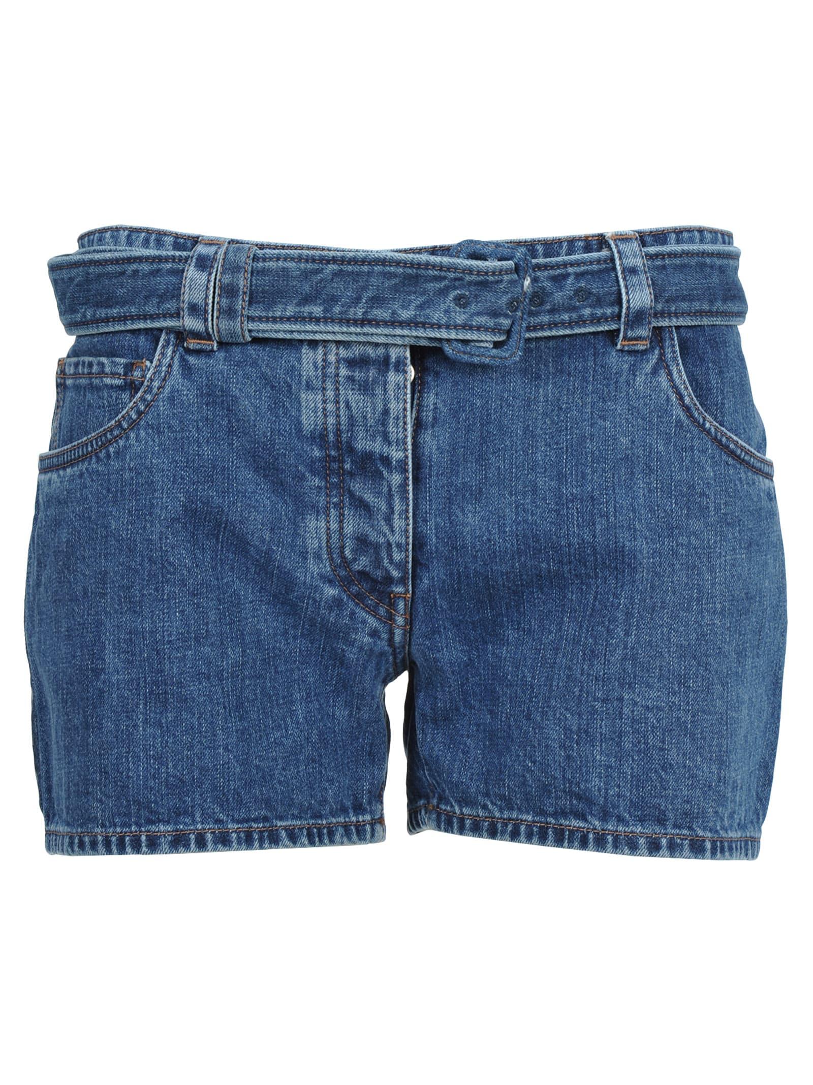 Prada Prada Denim Shorts