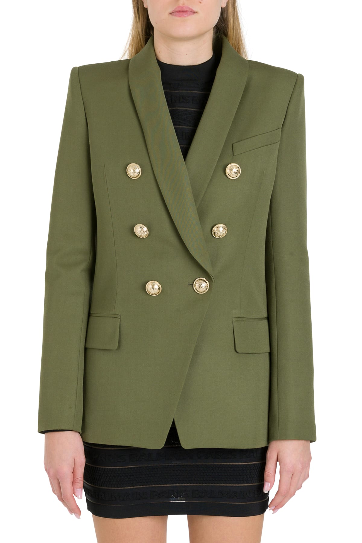 Balmain Six Buttons Double-breasted Blazer