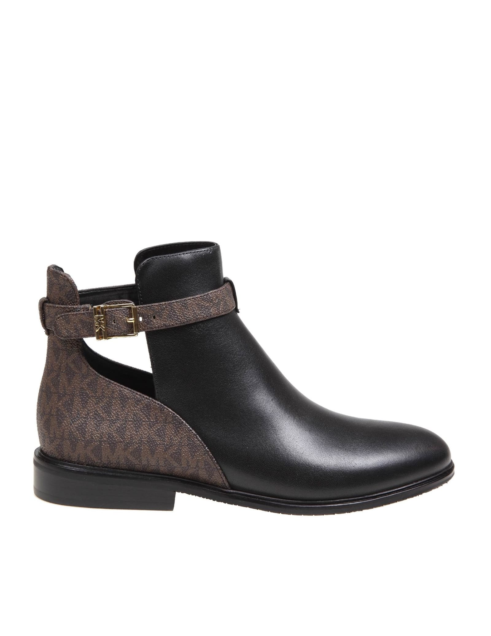 Michael Kors LAWSON LEATHER ANKLE BOOT