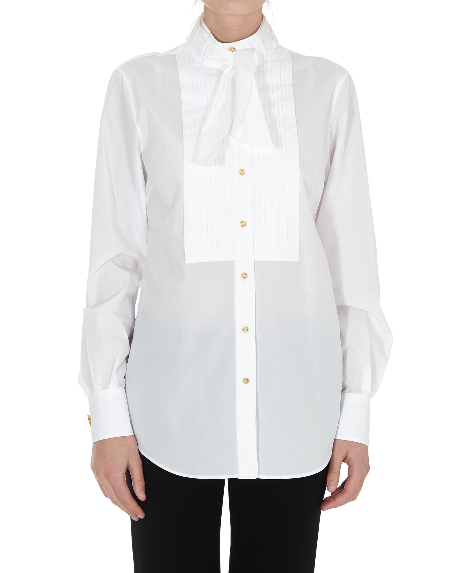 Dolce & Gabbana Shirt In Bianco
