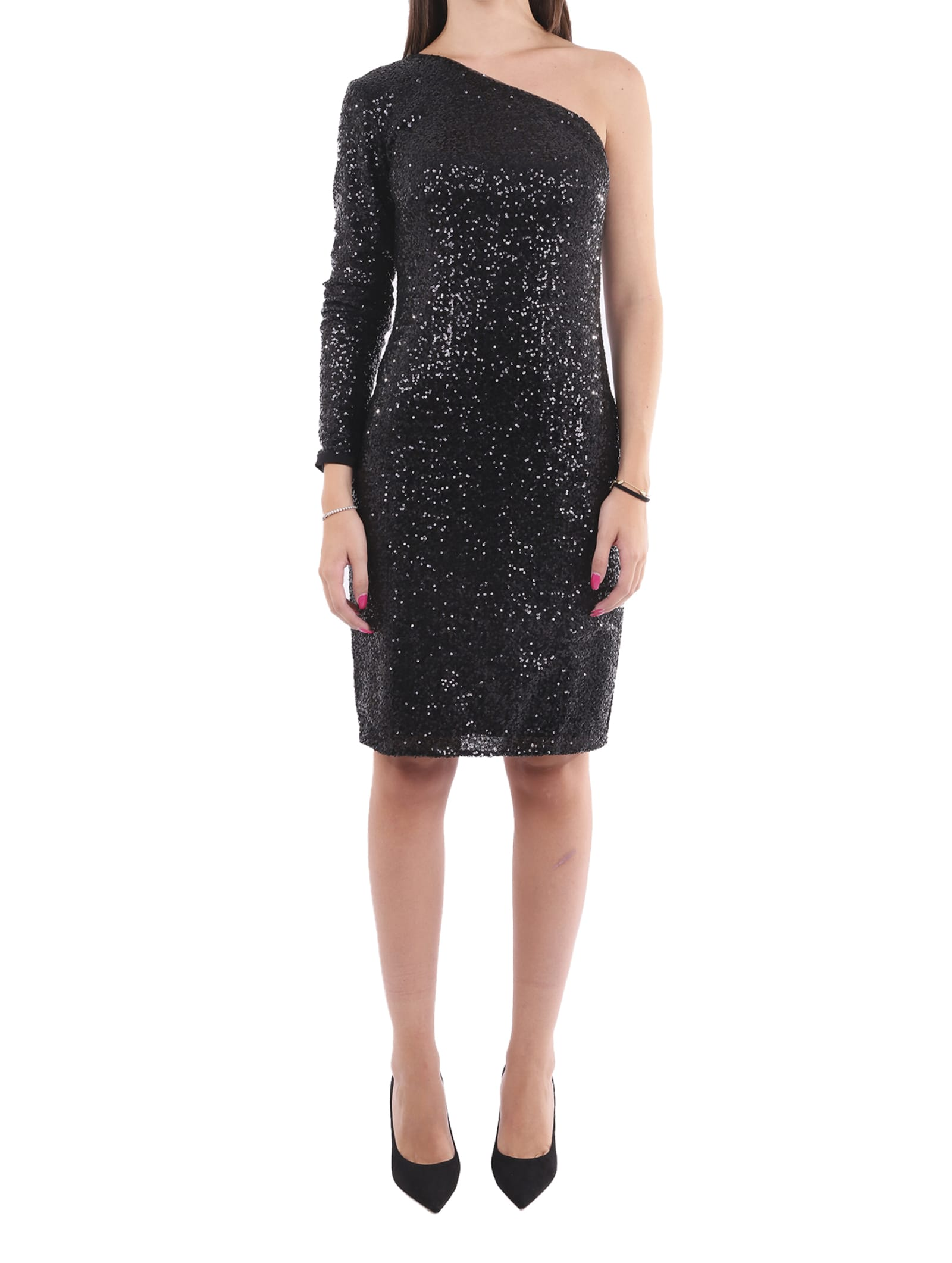 Lauren Ralph Lauren Black Marri Dress