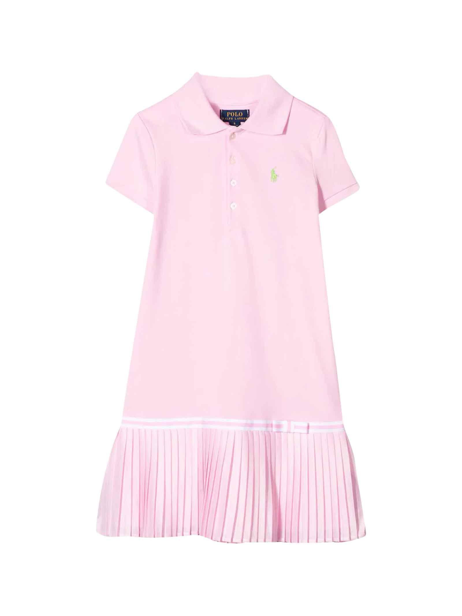 Buy Ralph Lauren Pink Dress online, shop Ralph Lauren with free shipping
