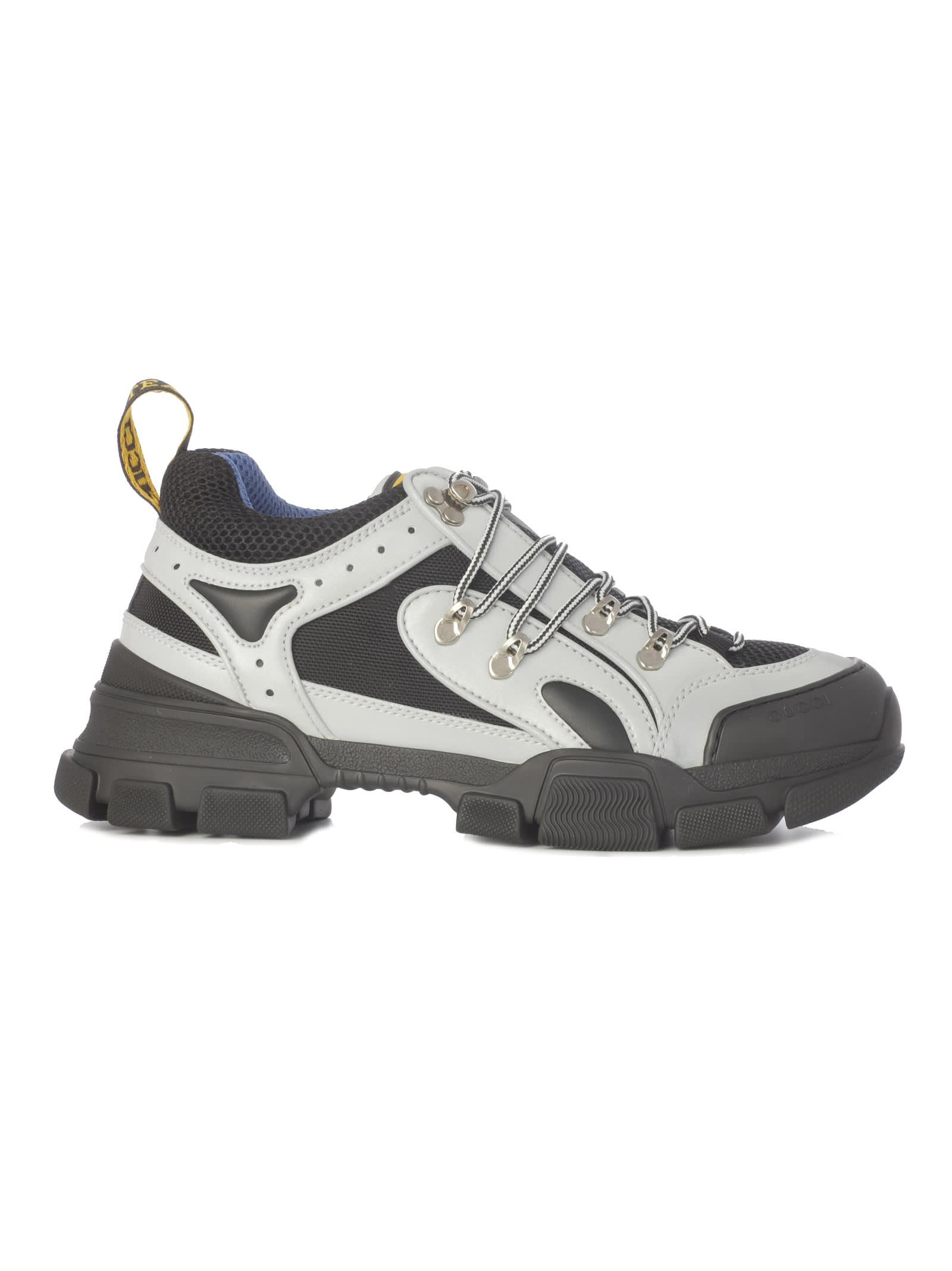 7134480f4 Gucci Gucci Flashtrek Hiking Sneakers - Silver Black - 10785198 ...