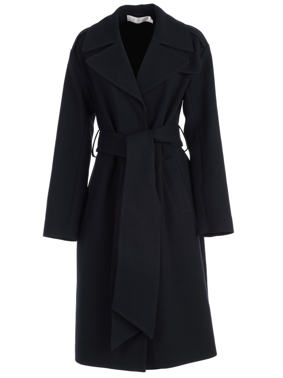 Photo of  Victoria Victoria Beckham Trench W/zip In Front- shop Victoria Victoria Beckham jackets online sales