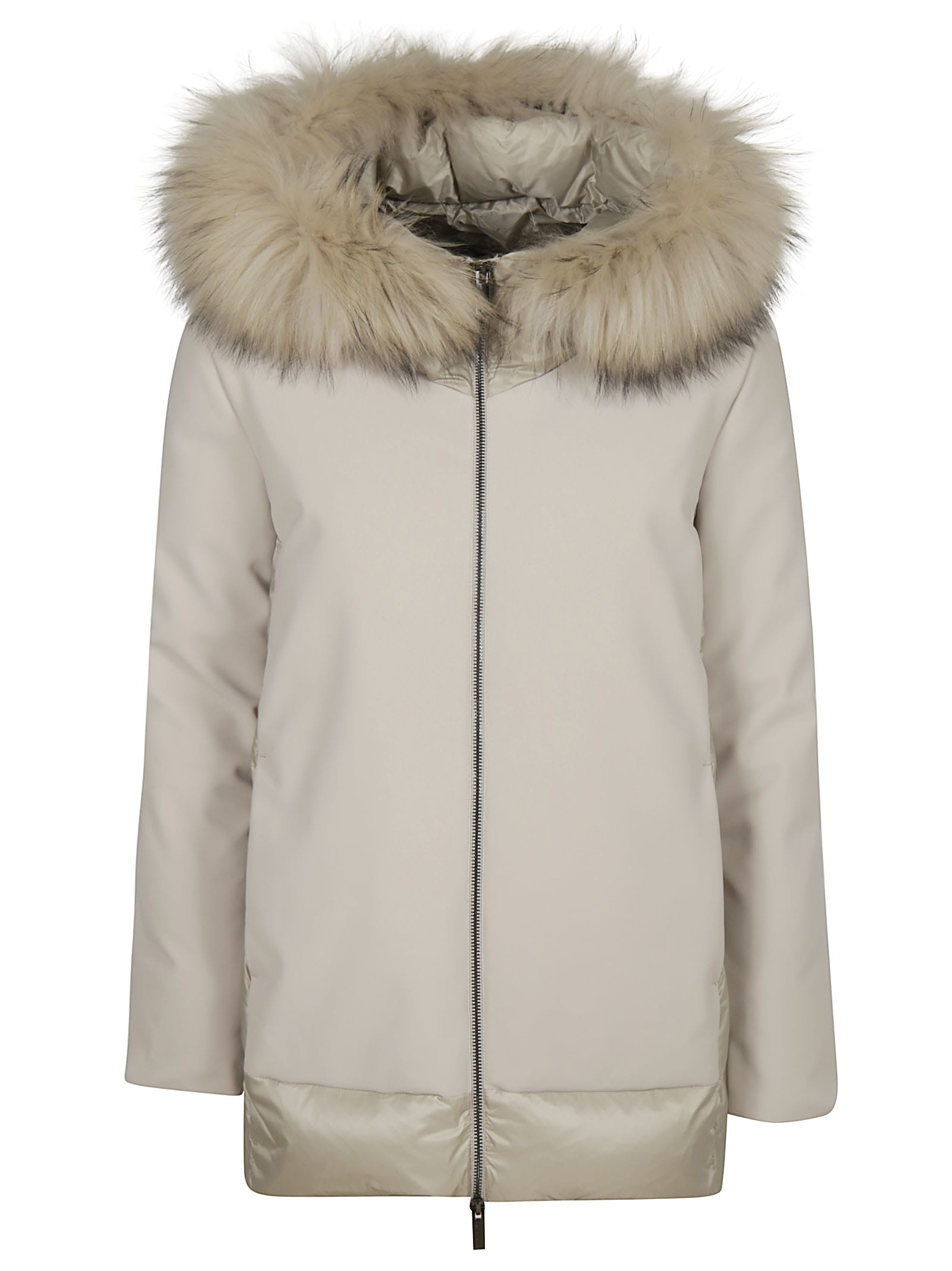 RRD - Roberto Ricci Design Winter Hybrid Feathered Hood Jacket