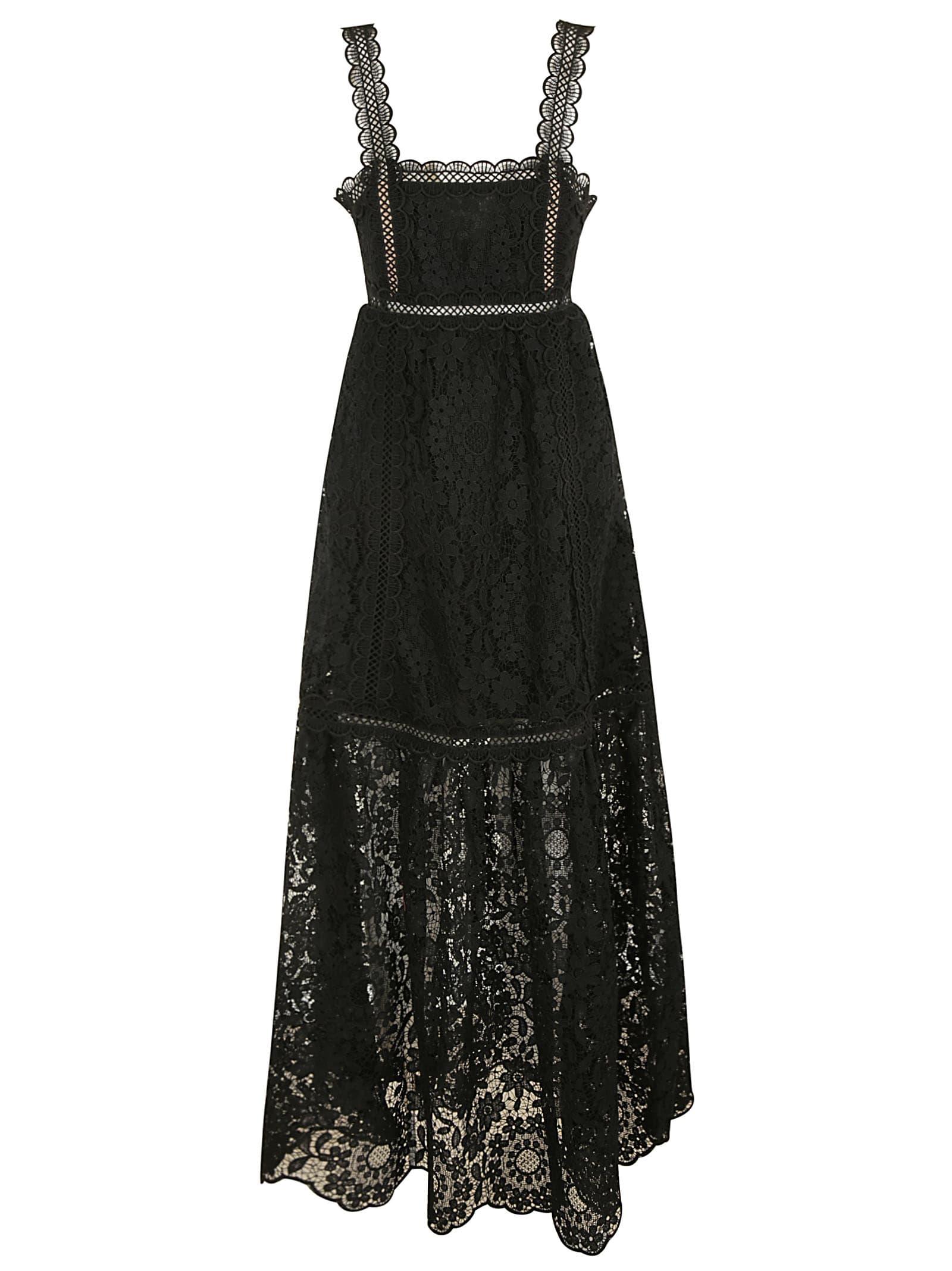 self-portrait Long-length Laced Dress