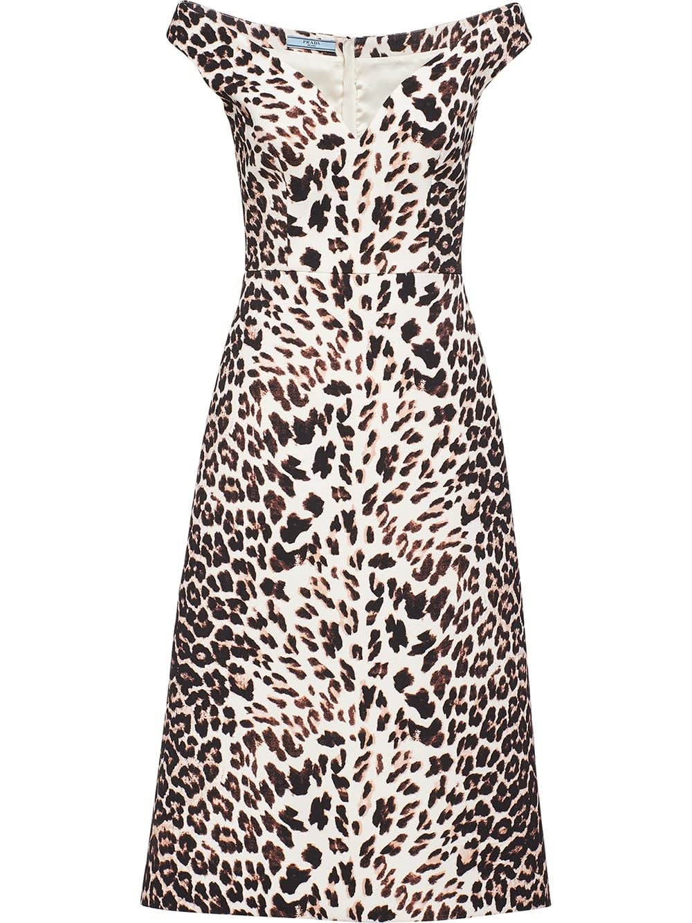 Photo of  Prada Dress Leopard- shop Prada  online sales