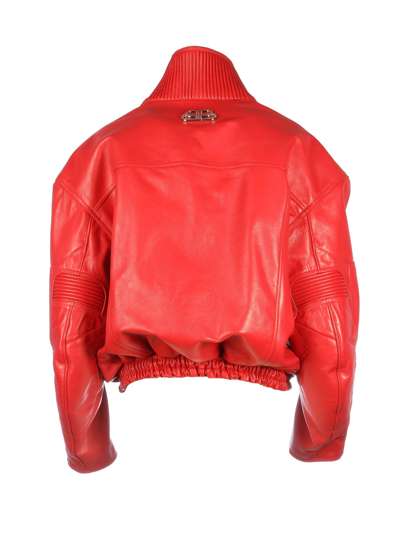 la meilleure attitude 9f1cb c6248 Balenciaga Biker Leather Jacket