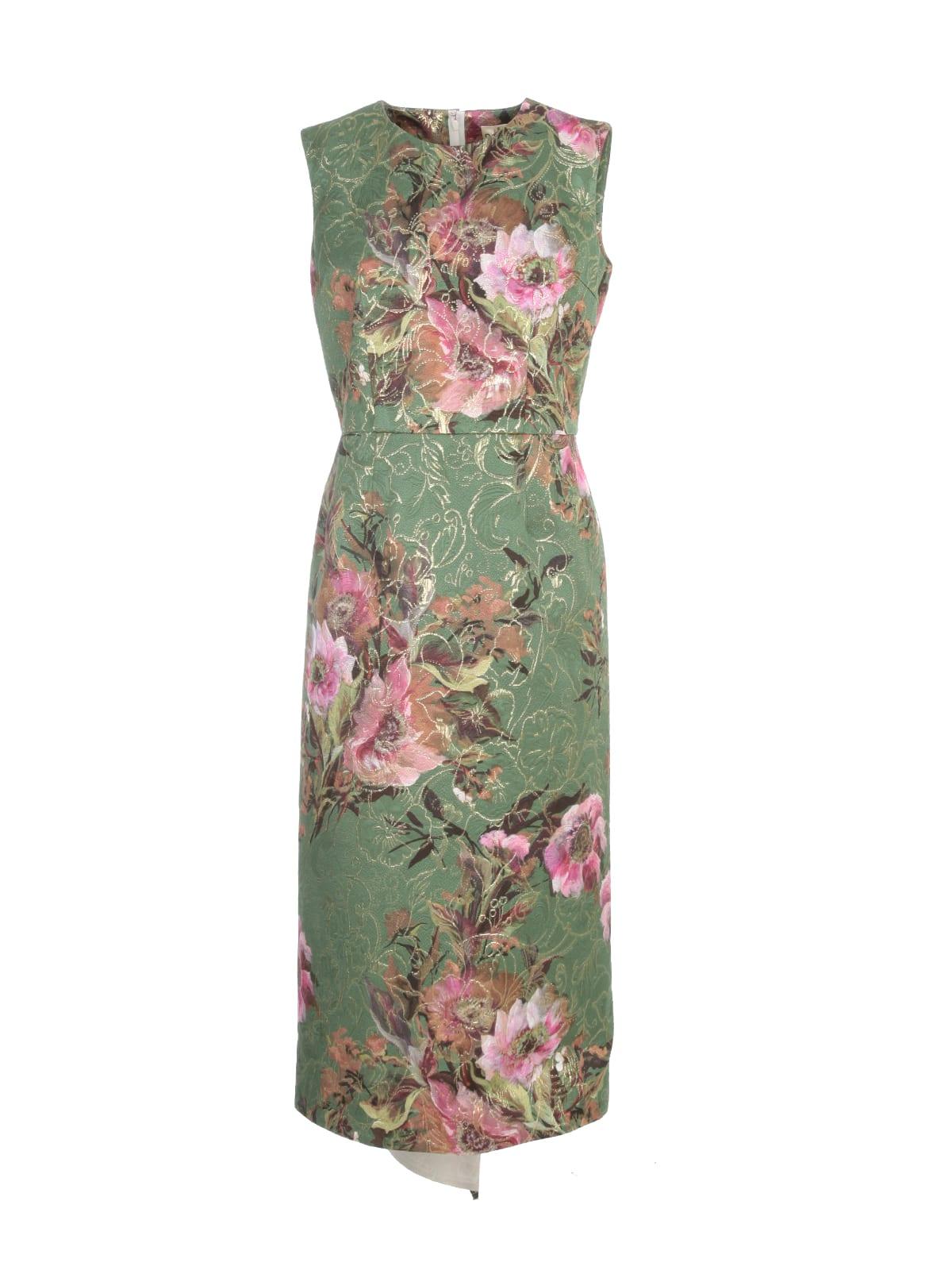 Buy Comme des Garçons Modal Cotton Printed Flower Dress online, shop Comme des Garçons with free shipping